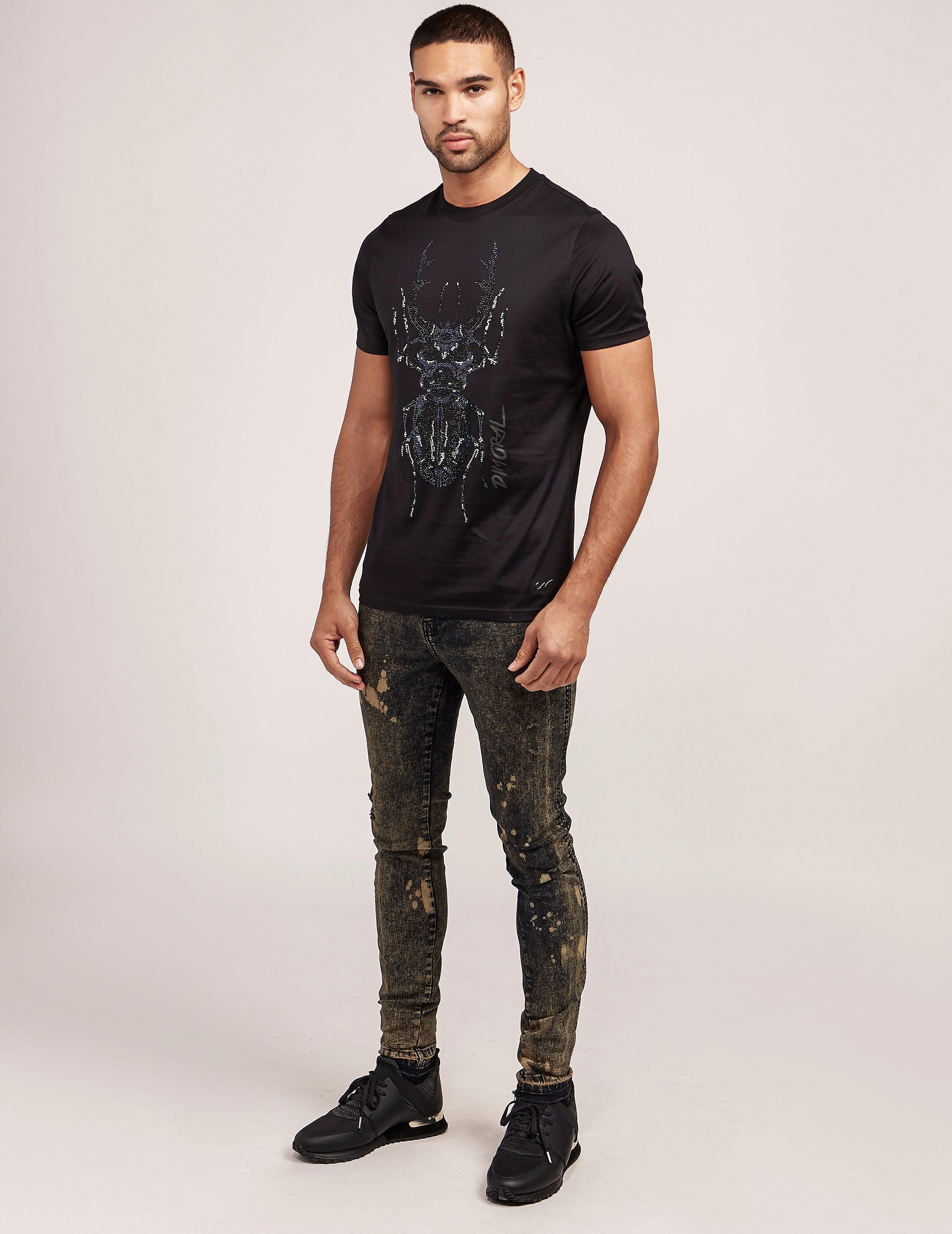 Dimoral Beetle Short Sleeve T-Shirt