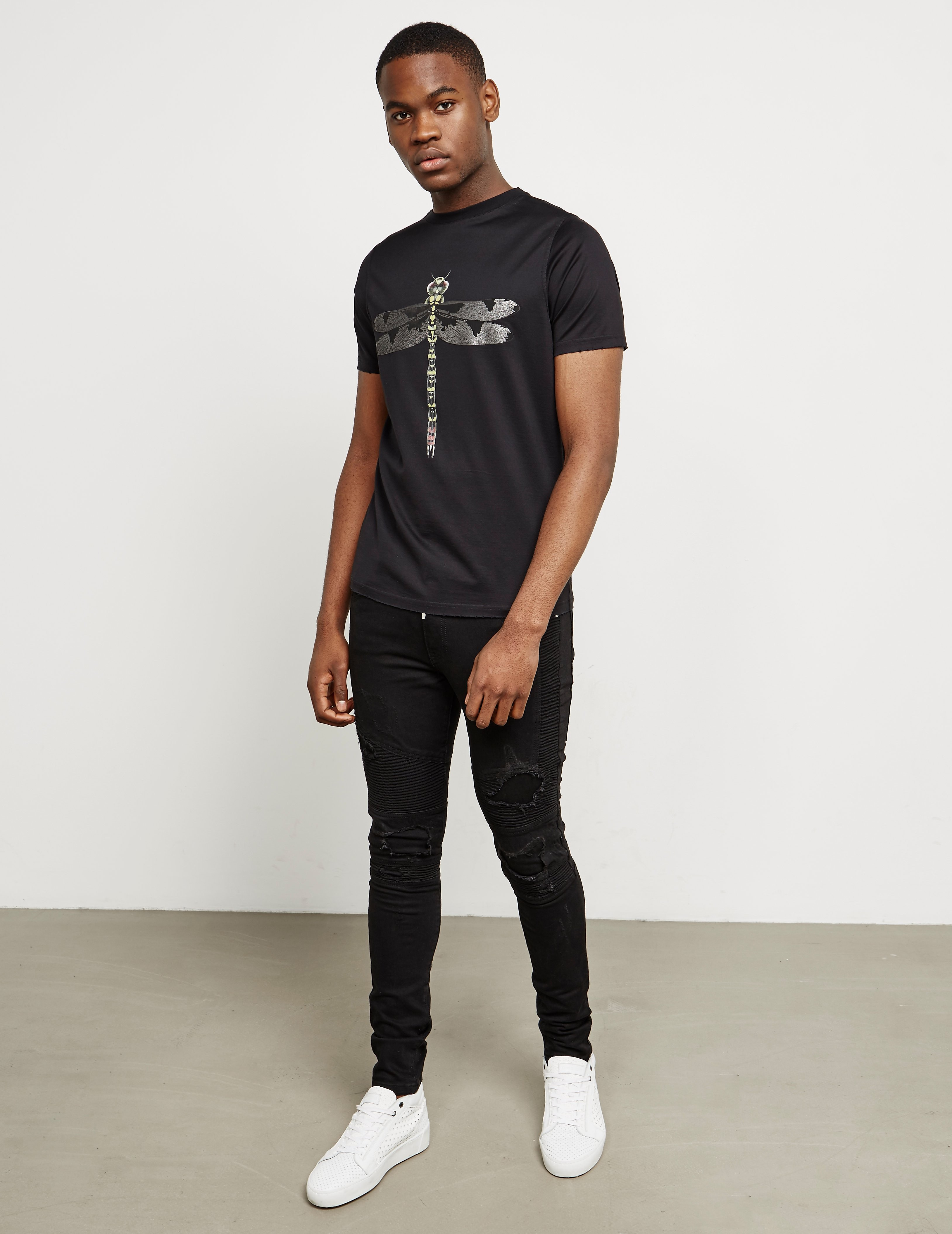 Dimoral Dragonfly Short Sleeve T-Shirt