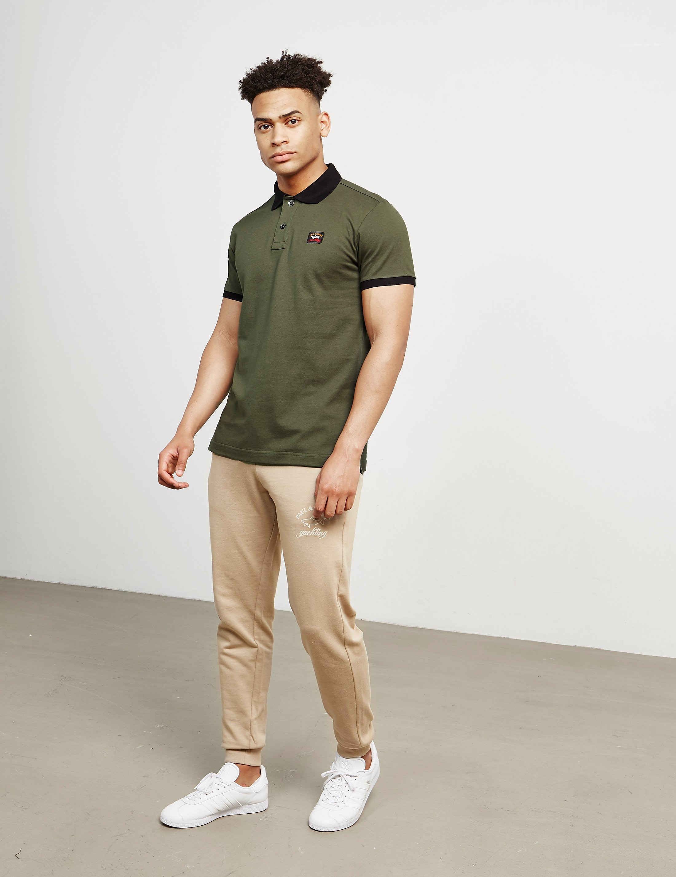 Paul and Shark Contrast Short Sleeve Polo Shirt