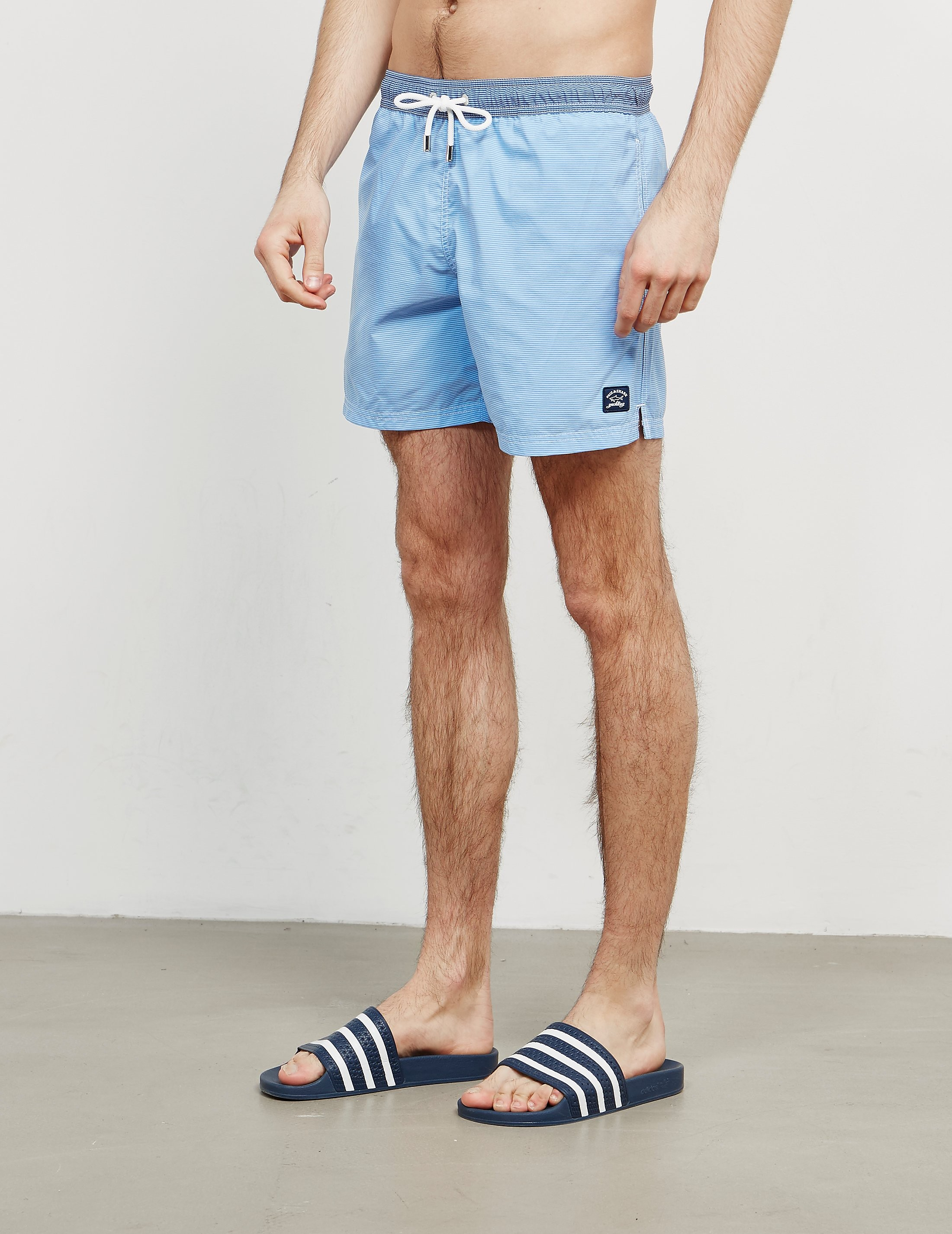 Paul and Shark Stripe Swim Shorts