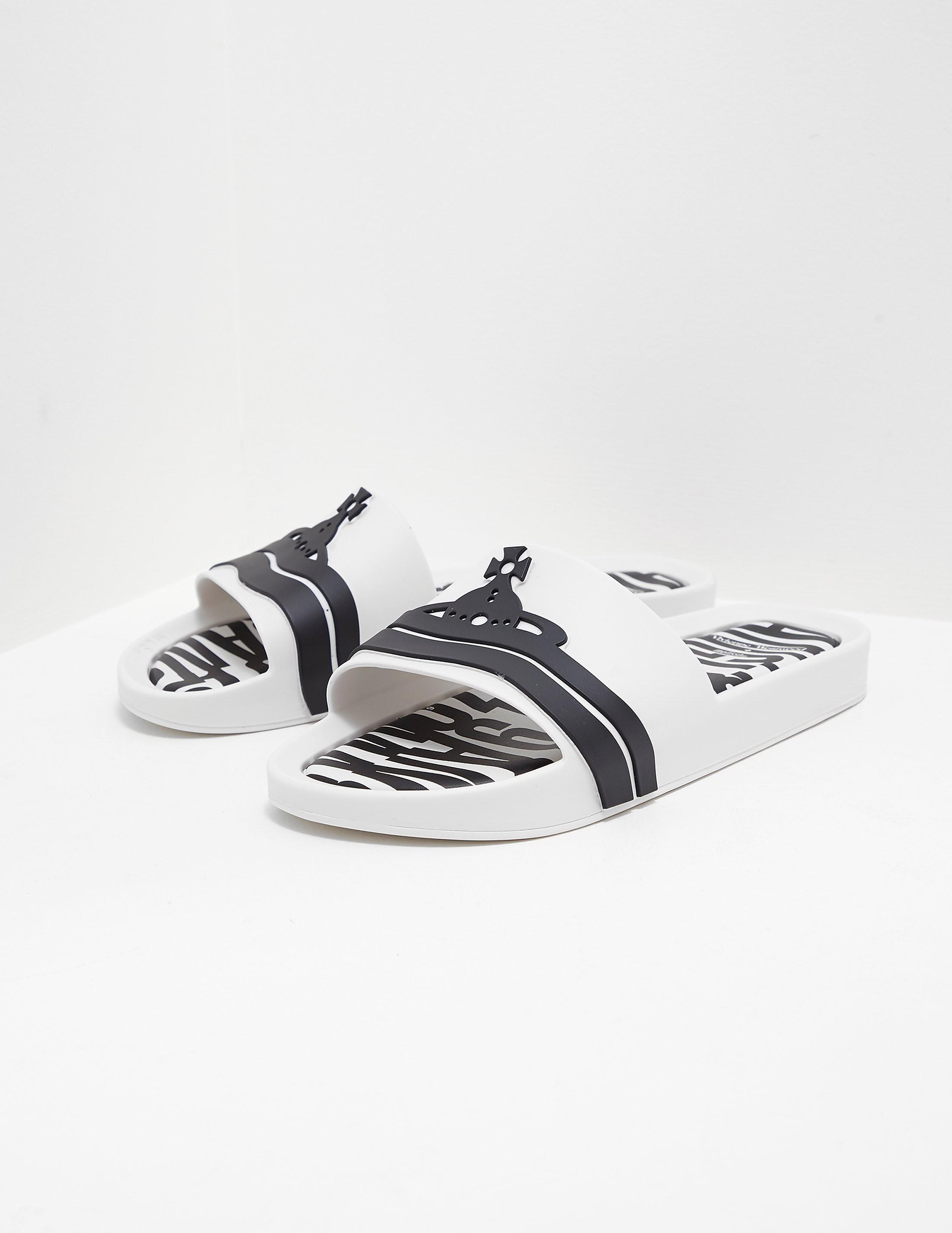 Melissa x Vivienne Westwood Anglomania Beach Slides