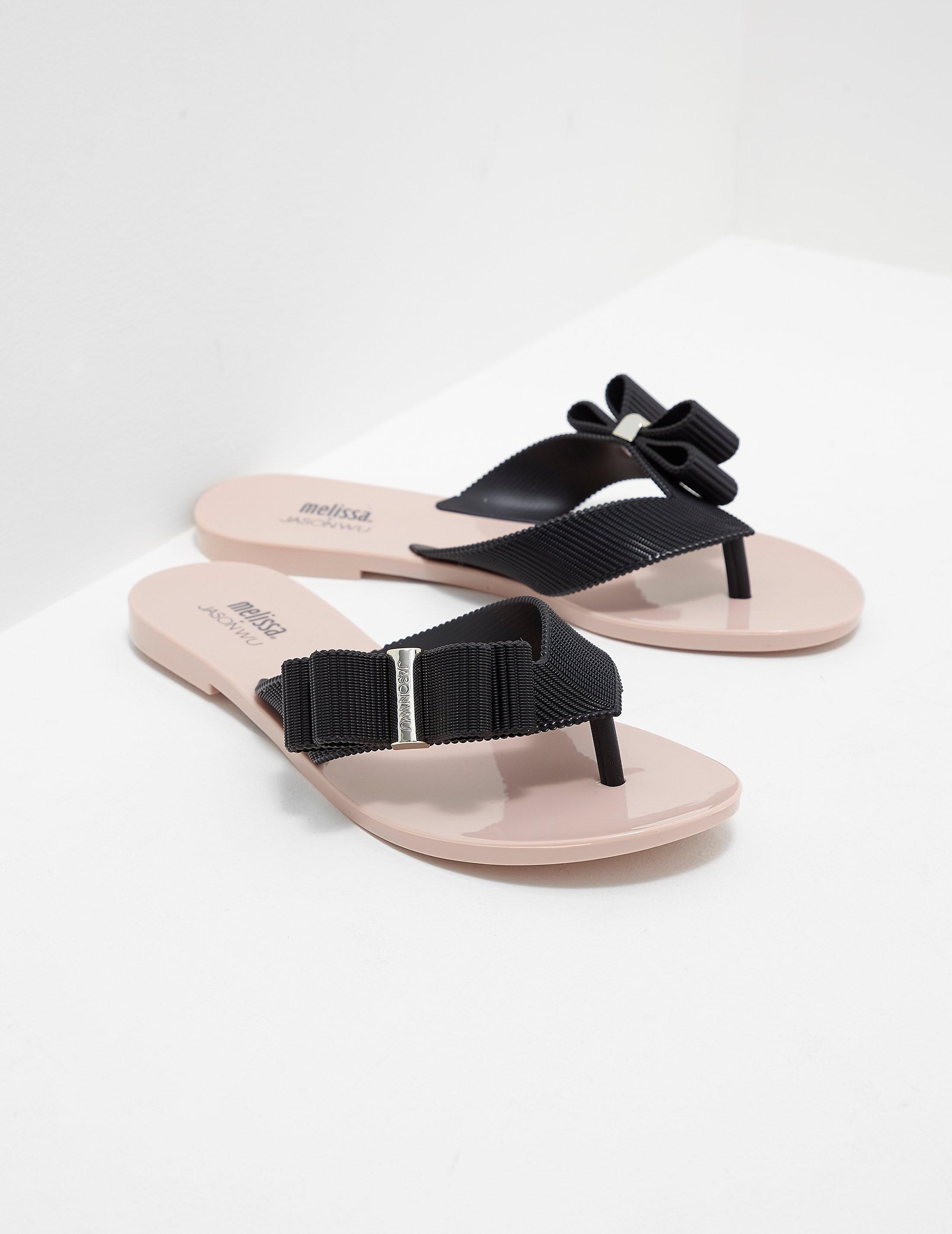 Melissa x Jason Wu Contrast Sandals
