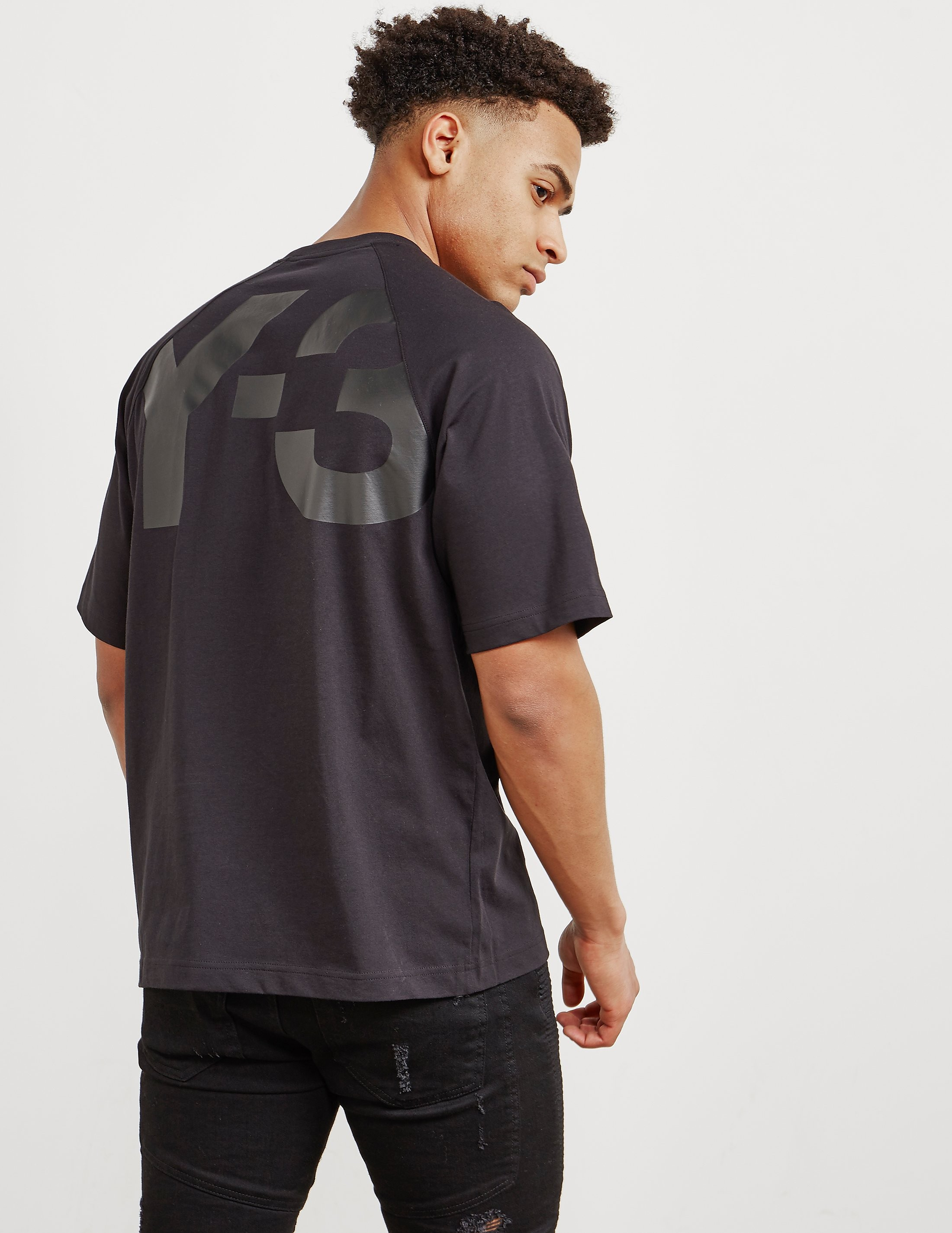 Y-3 Back Logo Short Sleeve T-Shirt
