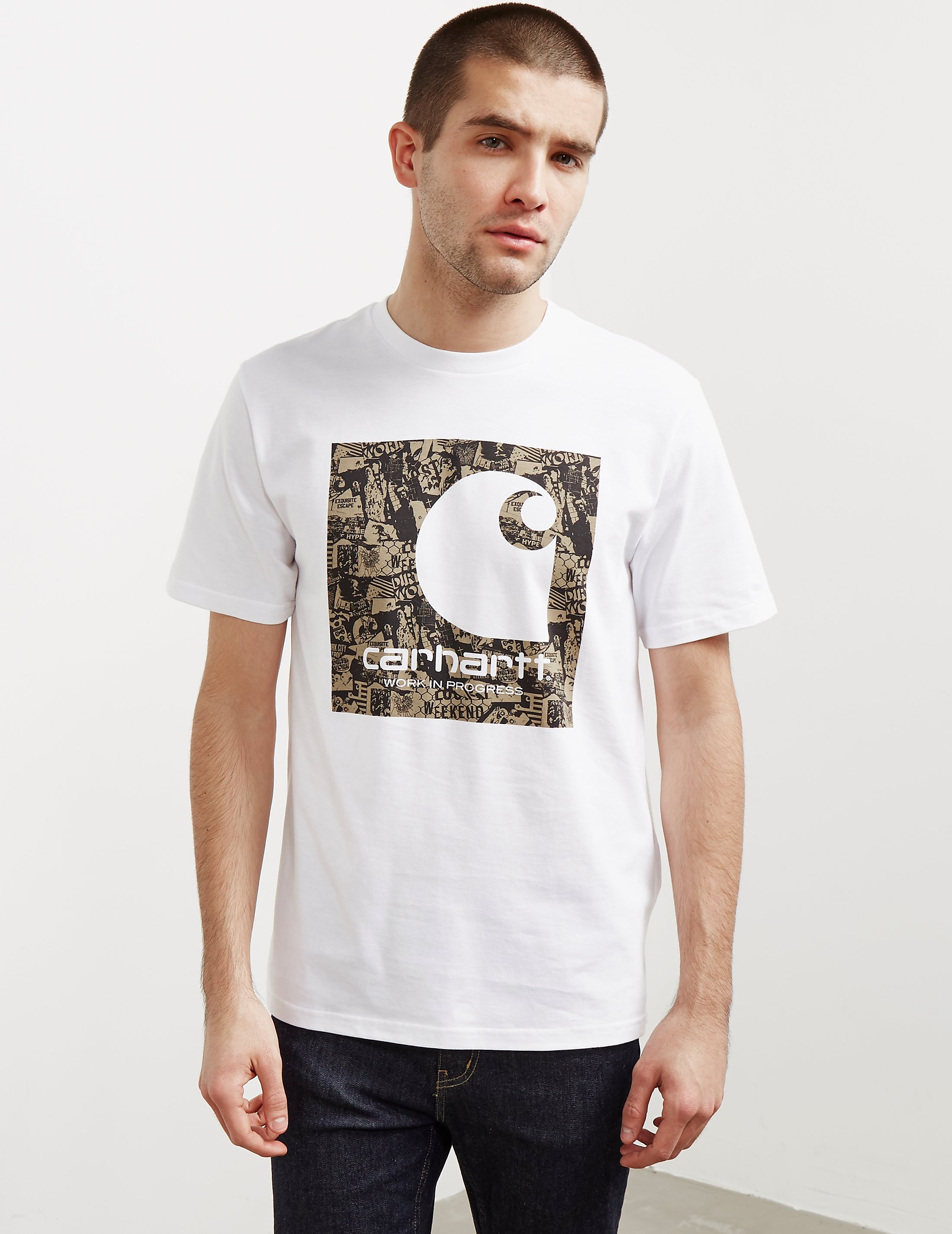 Carhartt WIP Collage Short Sleeve T-Shirt