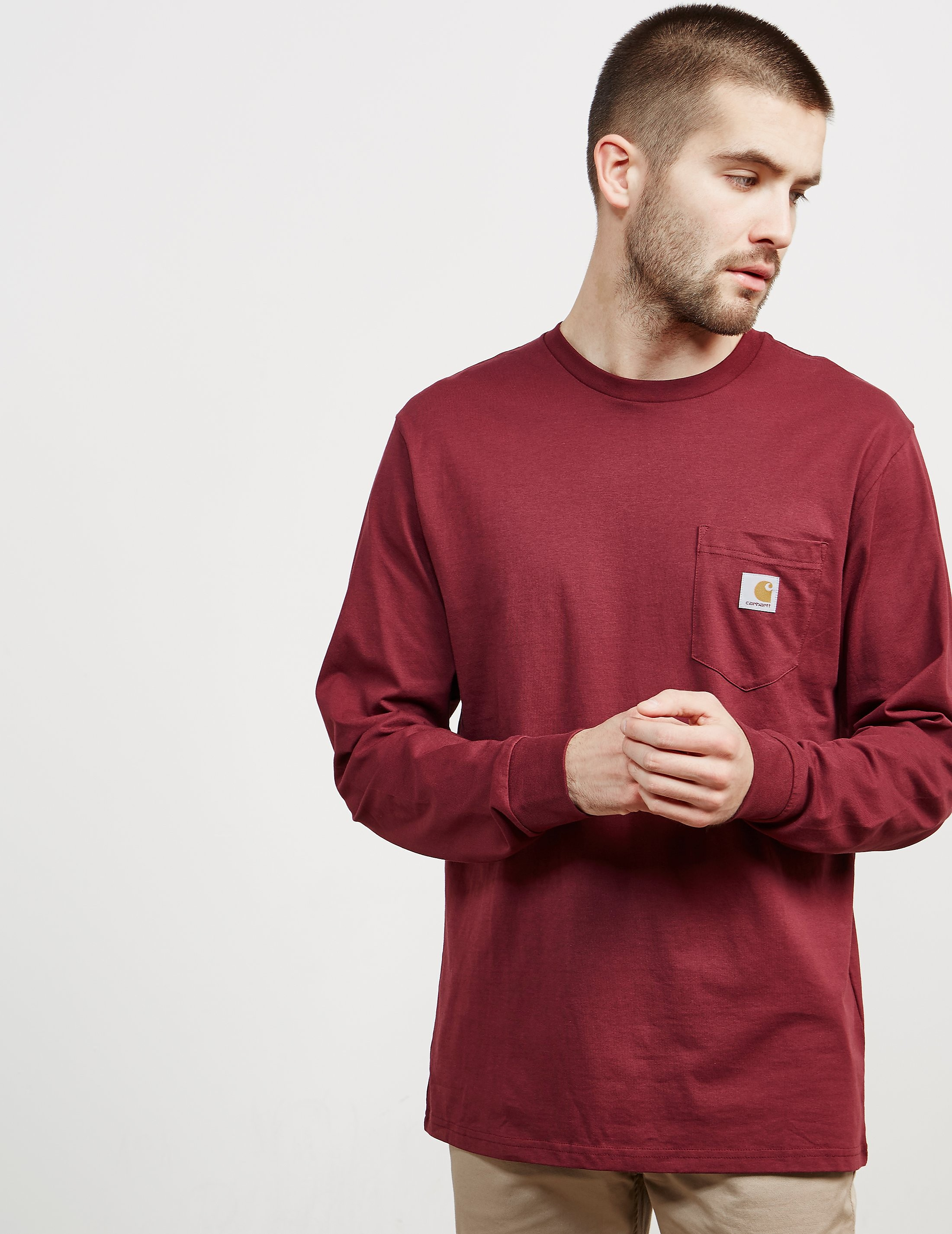 Carhartt WIP Pocket Long Sleeved T-Shirt