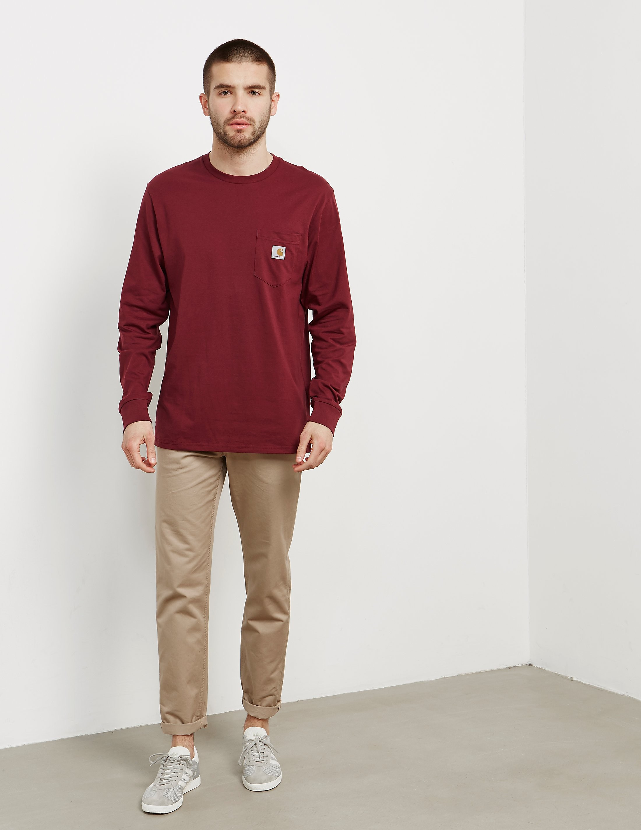 Carhartt WIP Pocket Long Sleeved T-Shirt