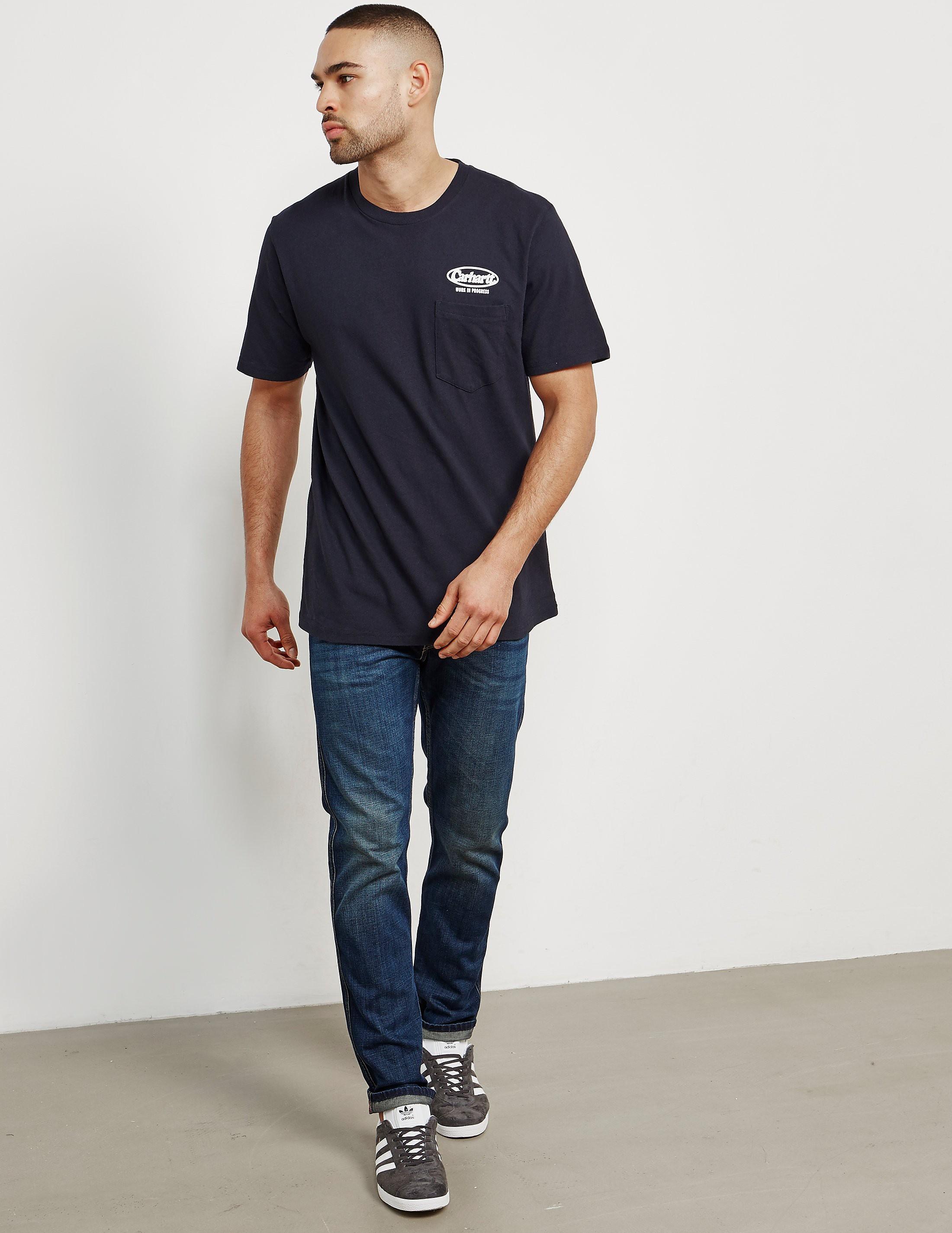 Carhartt WIP Oval Script Short Sleeve T-Shirt