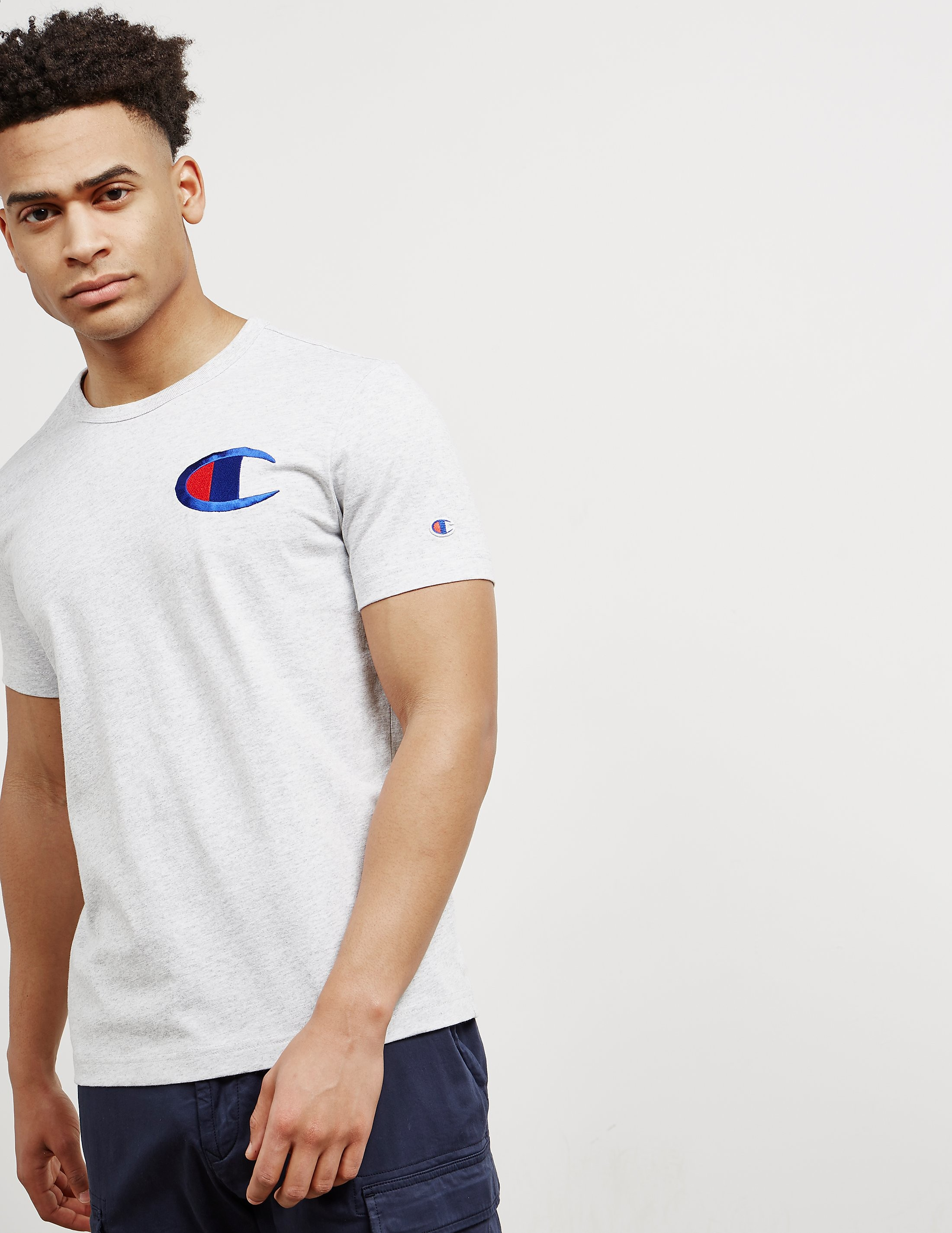 Champion Medium Logo Short Sleeve T-Shirt