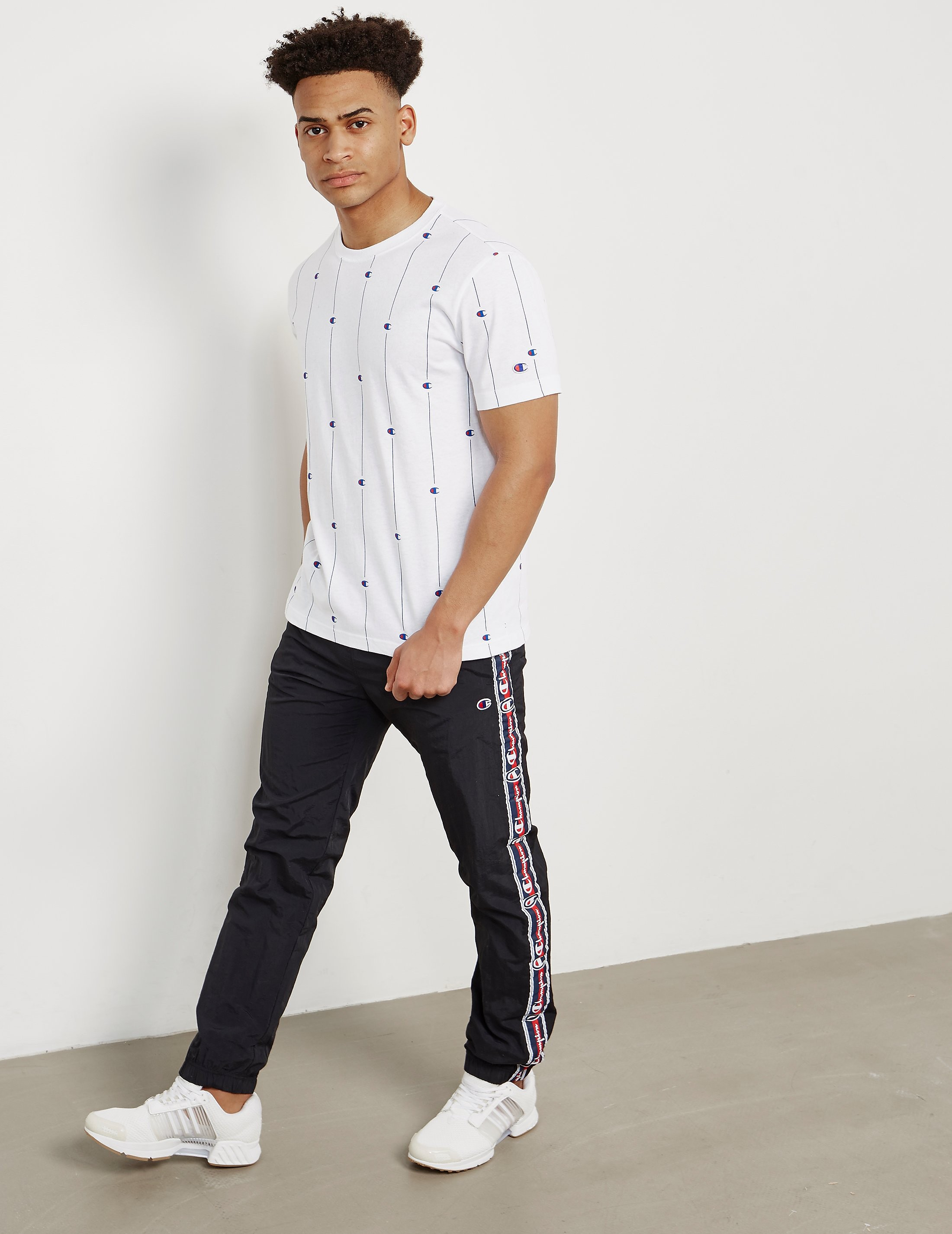 Champion Pinstripe Short Sleeve T-Shirt