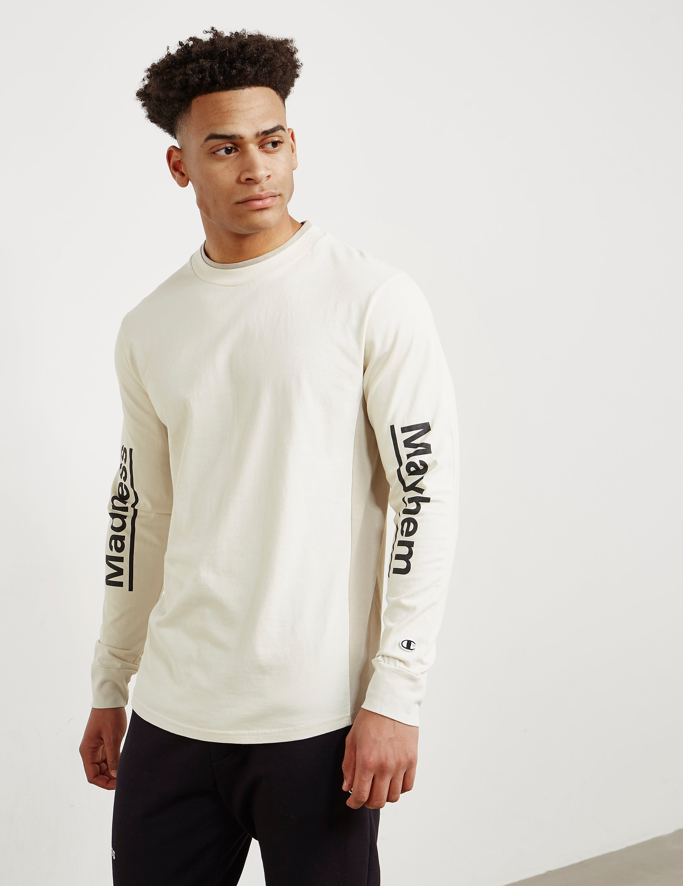 Champion x Wood Wood Madness Long Sleeve T-Shirt