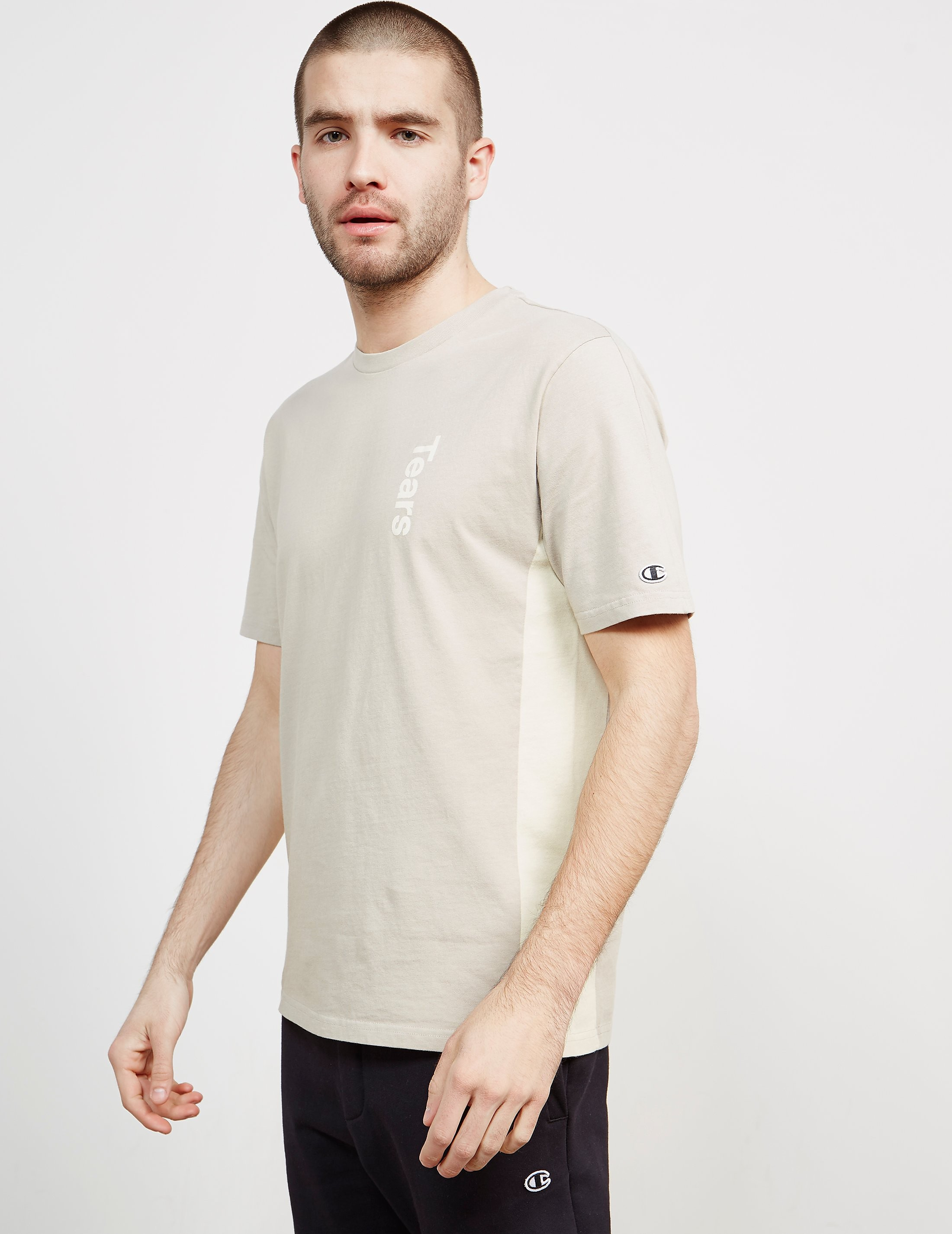 Champion x Wood Wood Tears Short Sleeve T-Shirt
