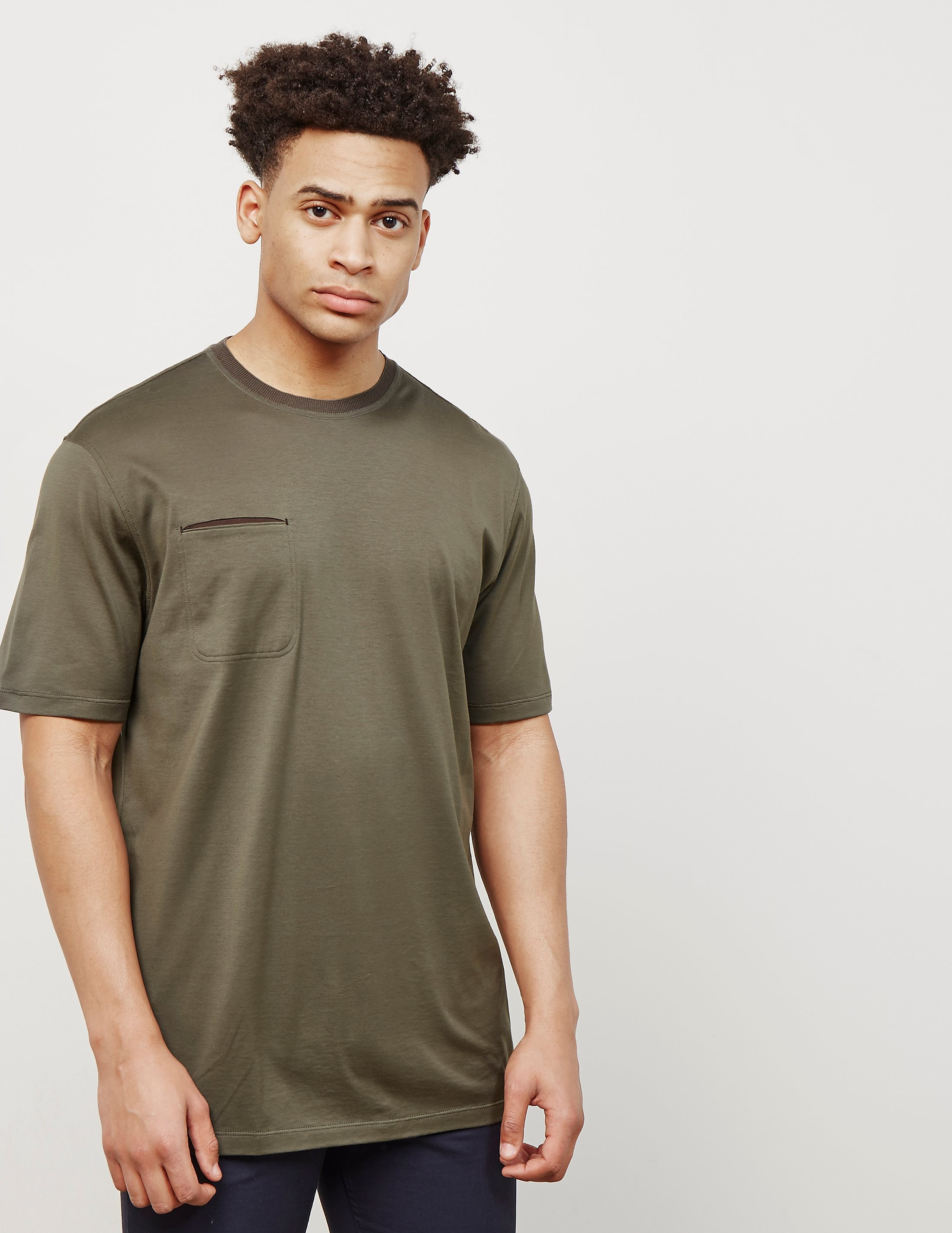 Z Zegna Pocket Short Sleeve T-Shirt - Online Exclusive