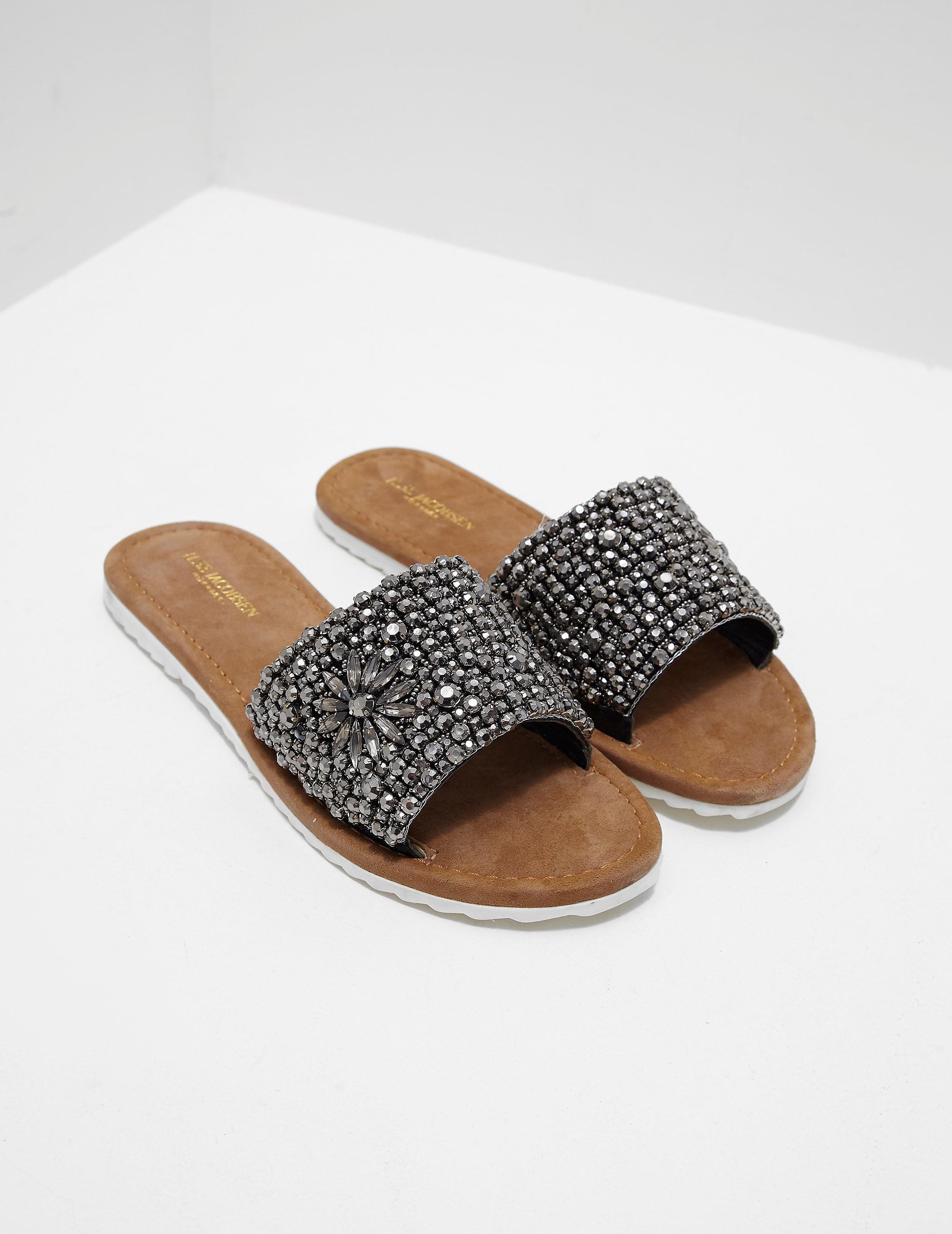 Ilse Jacobsen Sparkle Sandals - Online Exclusive
