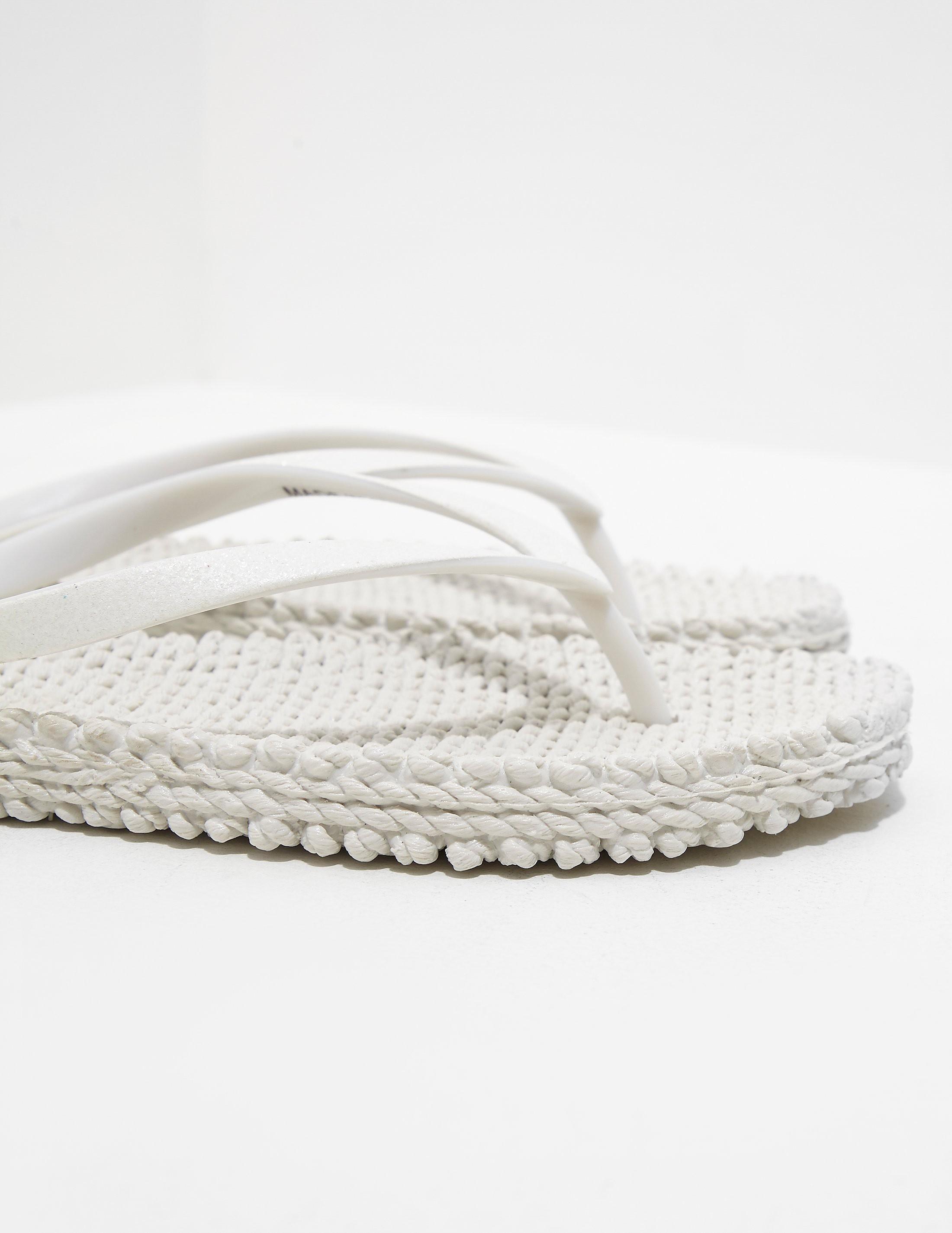 Ilse Jacobsen Woven Flip Flops