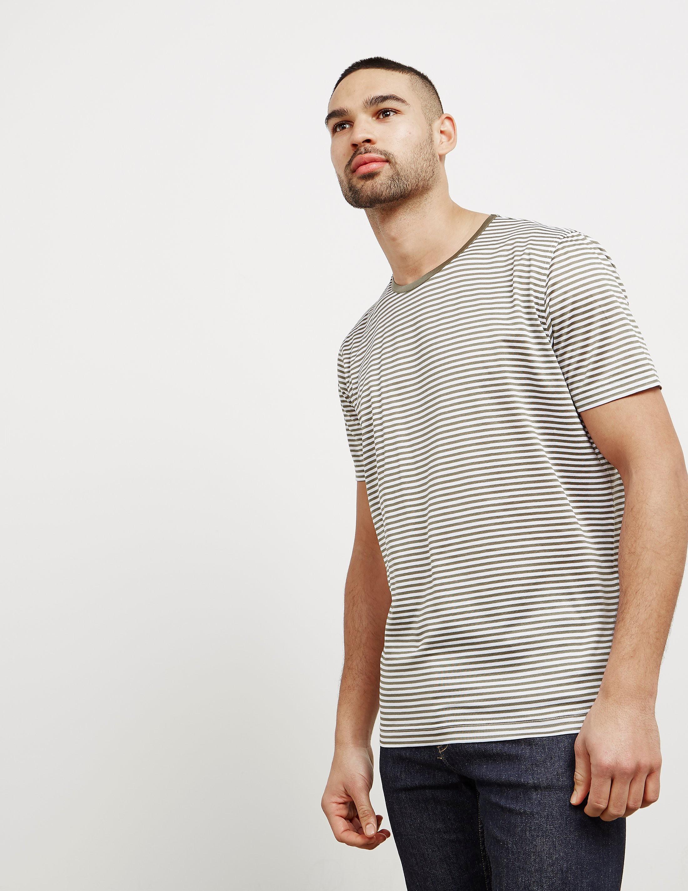 Gran Sasso Stripe Short Sleeve T-Shirt