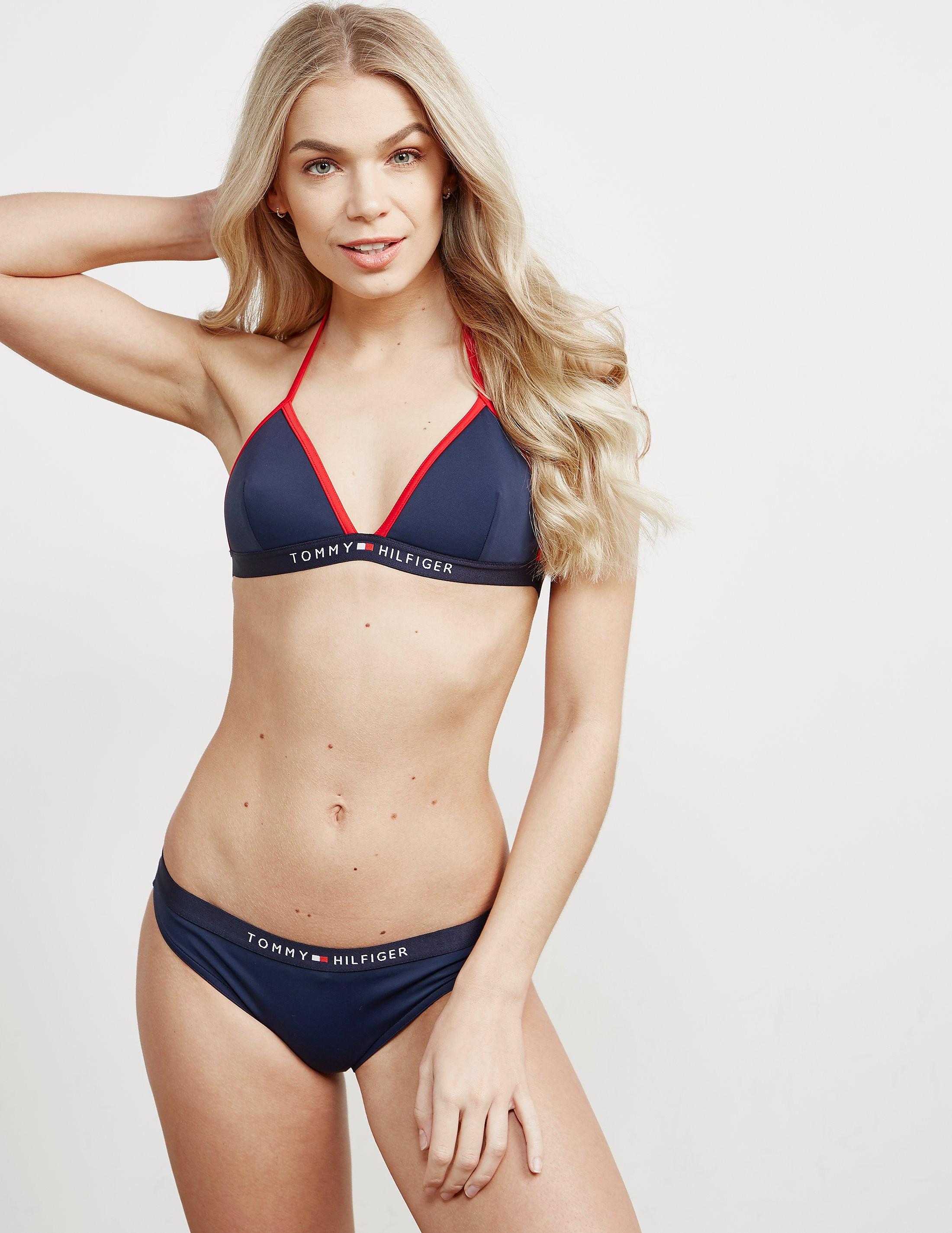 Tommy Hilfiger Triangle Fixed Bikini Top