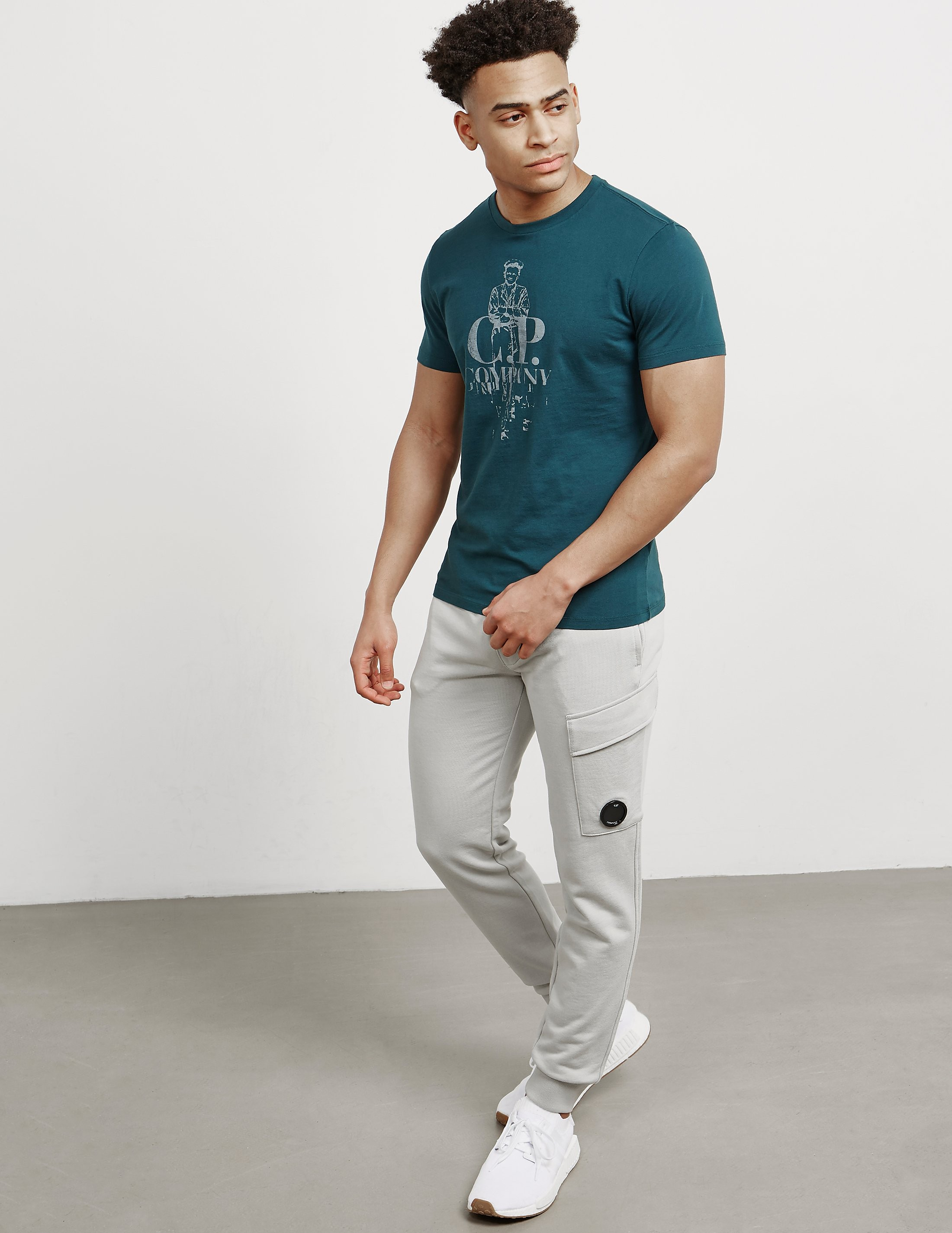 CP Company Lens Cuffed Track Pants