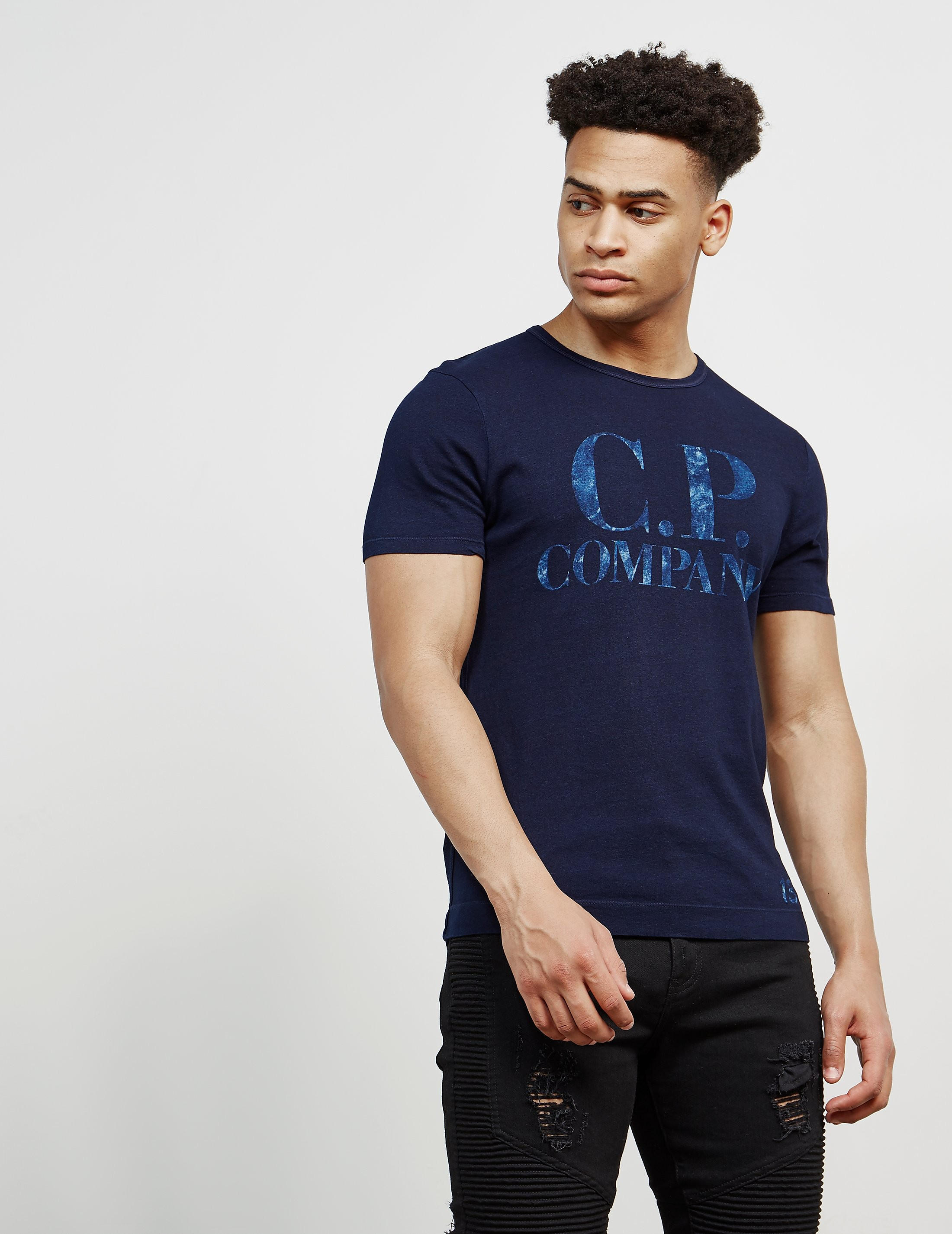 CP Company Shine Logo Short Sleeve T-Shirt