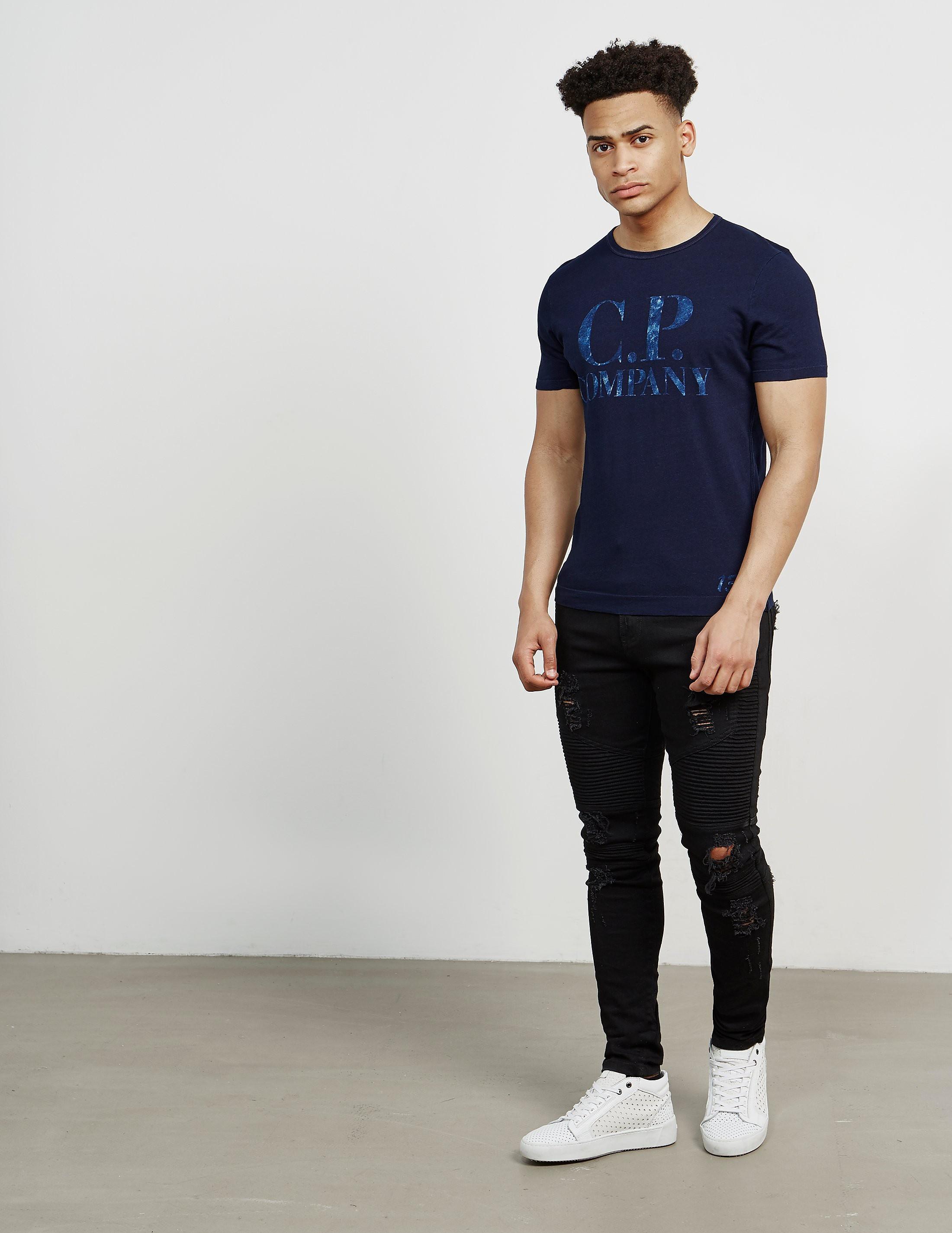 CP Company Shine Logo Short Sleeve T-Shirt