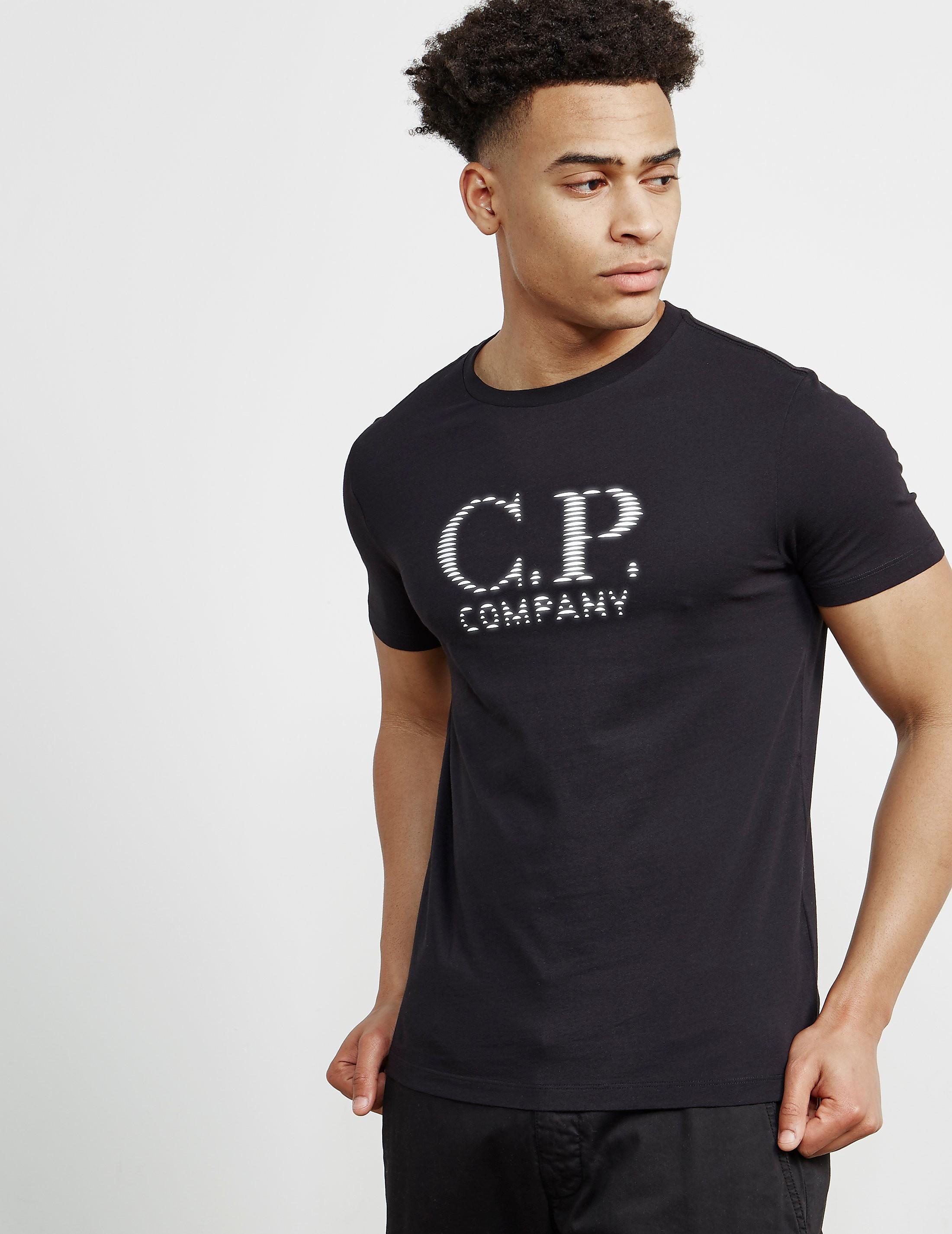 CP Company Reflective Logo Short Sleeve T-Shirt
