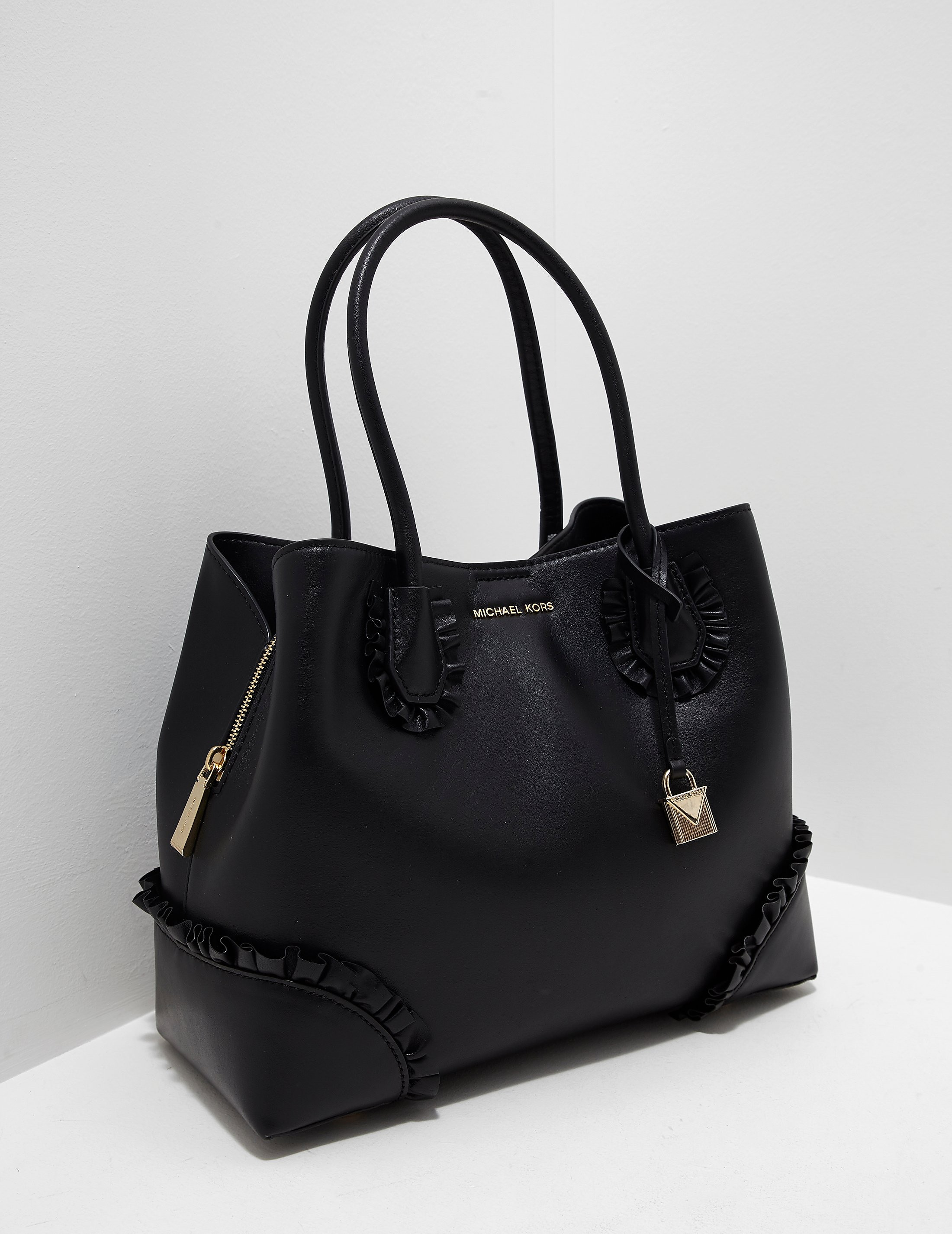 Michael Kors Mercer Frill Tote Bag
