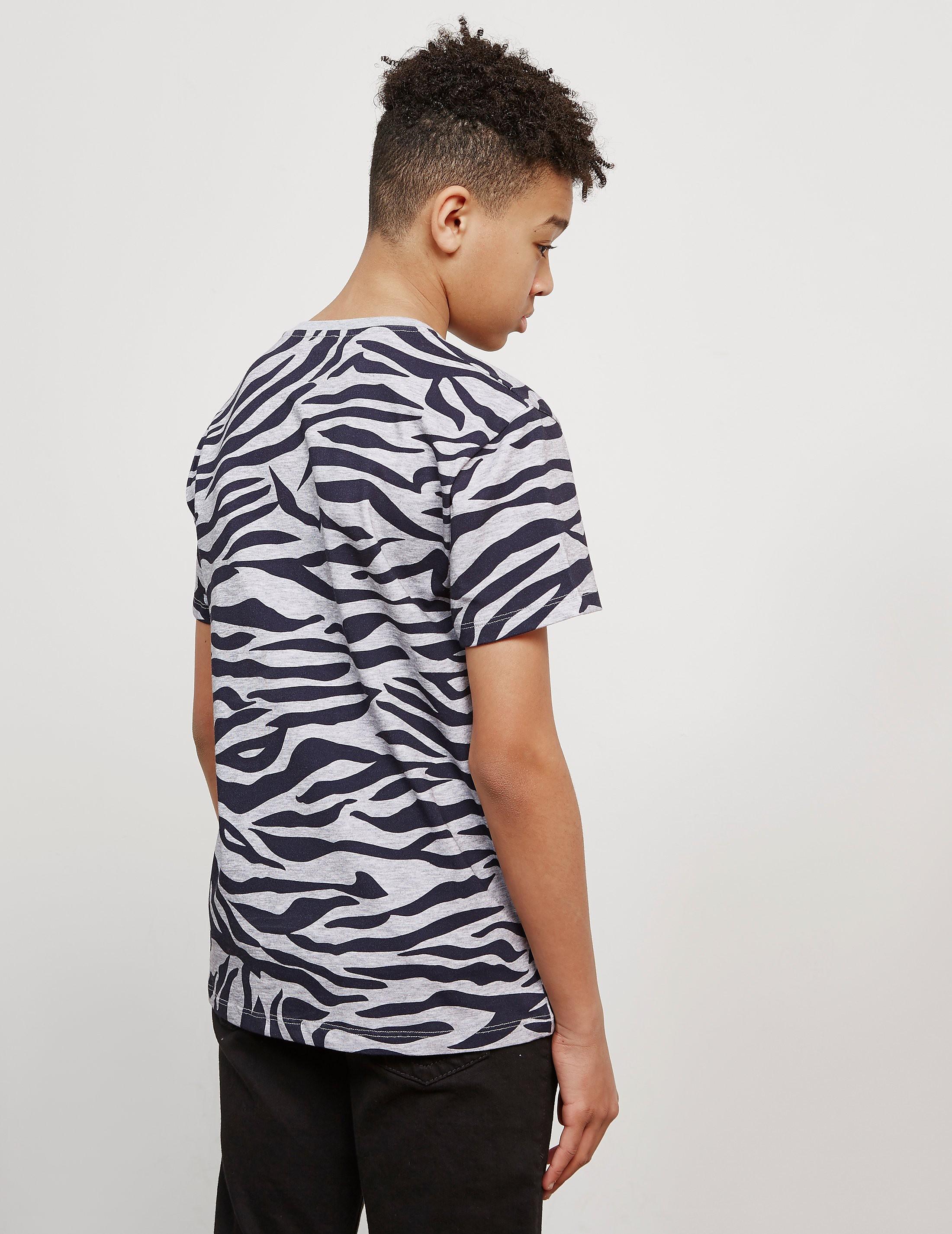 KENZO Camo Tiger Short Sleeve T-Shirt
