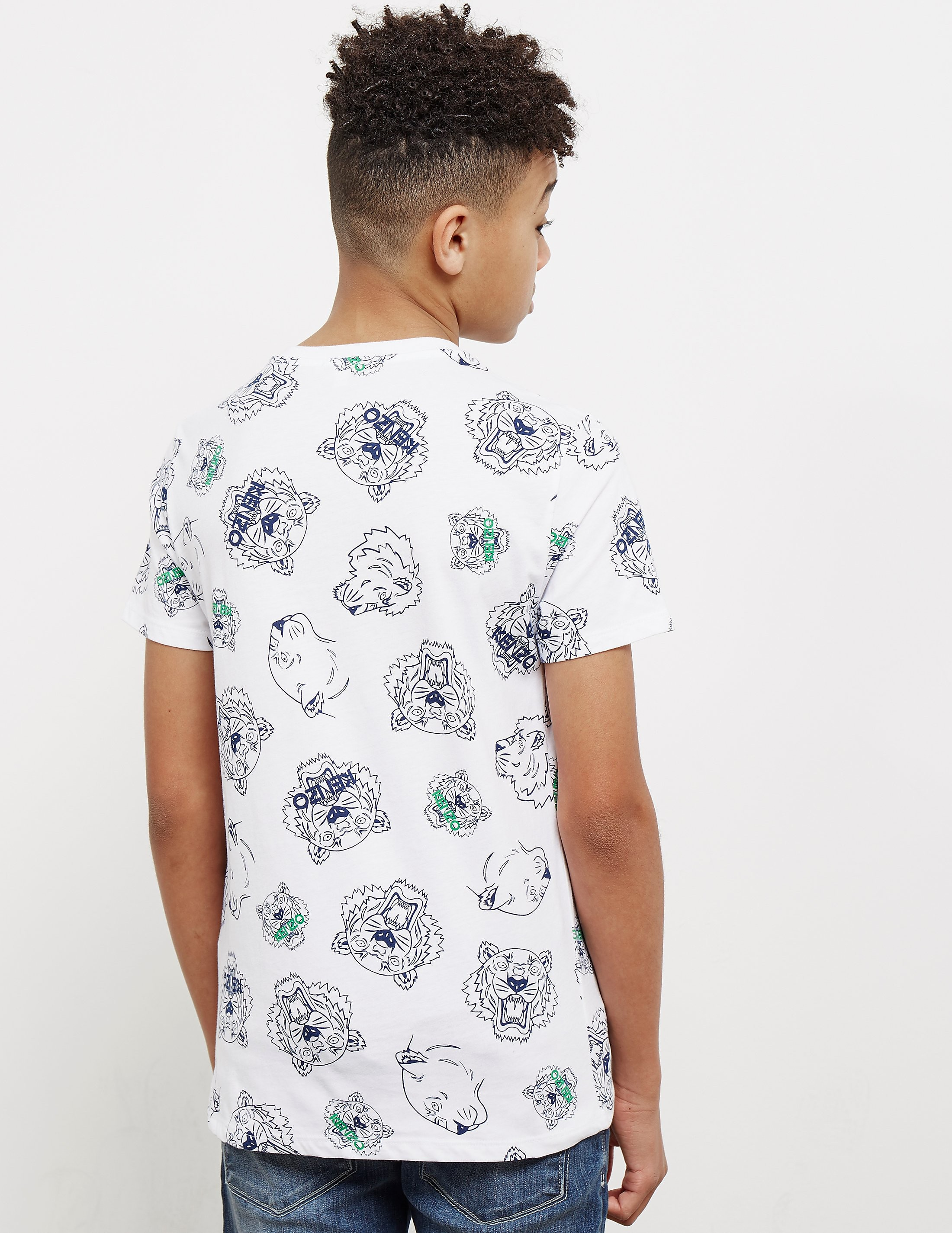 KENZO All Over Print Short Sleeve T-Shirt