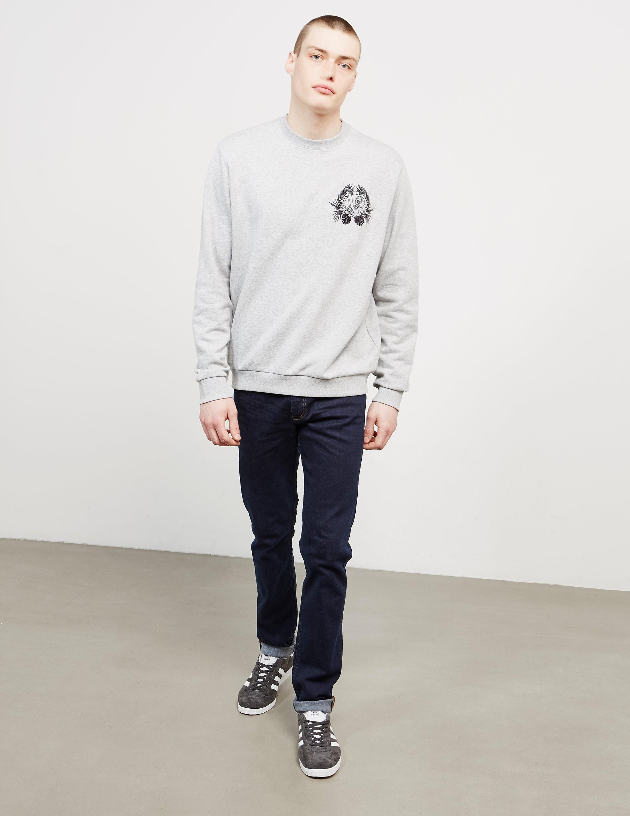 Versace Leaf Logo Sweatshirt