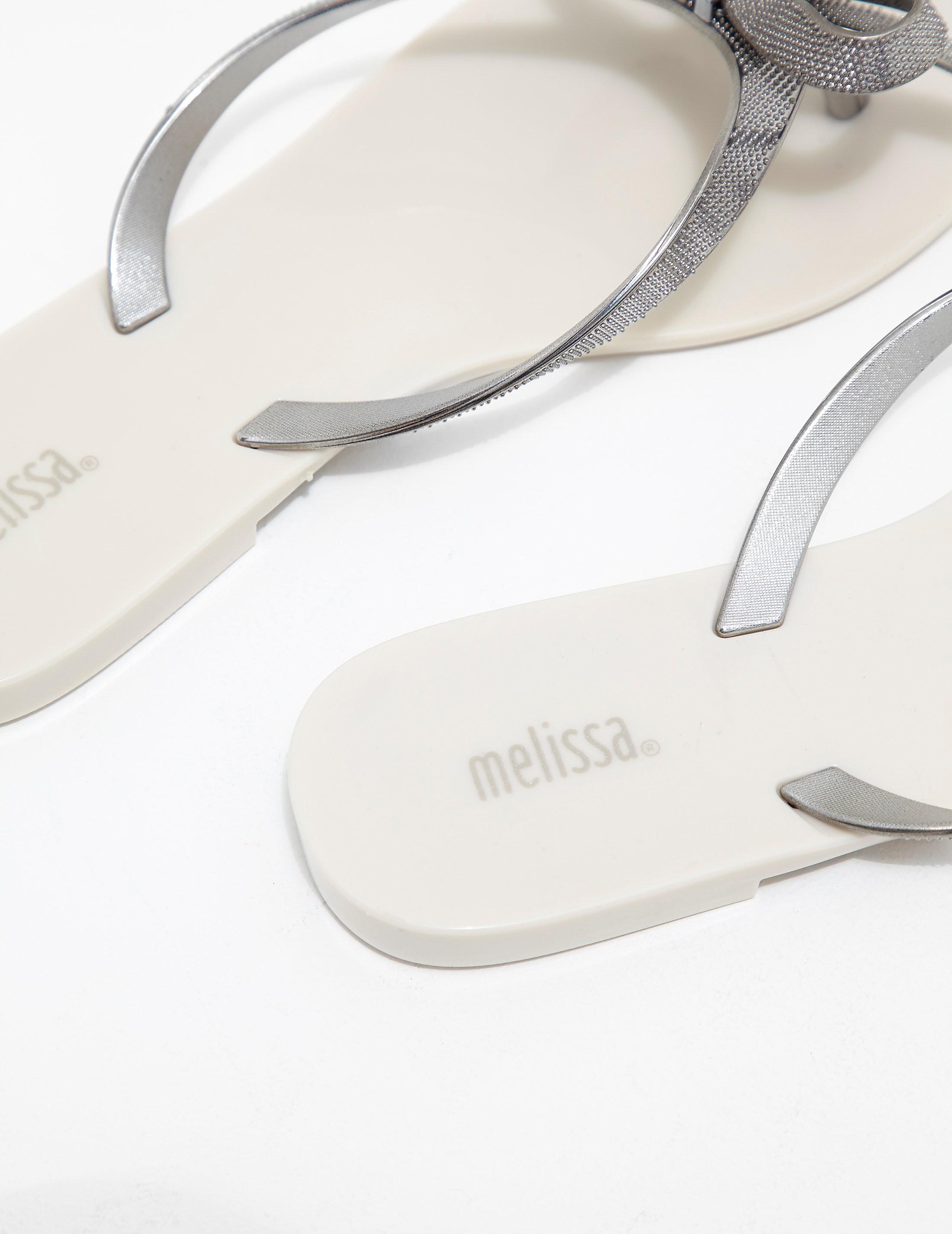 Melissa Harmonic Metallic Flip Flop