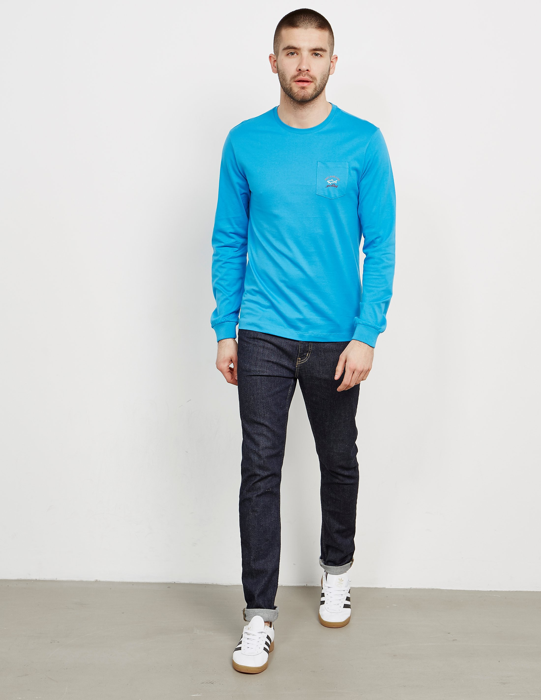 Paul and Shark Pocket Long Sleeve T-Shirt