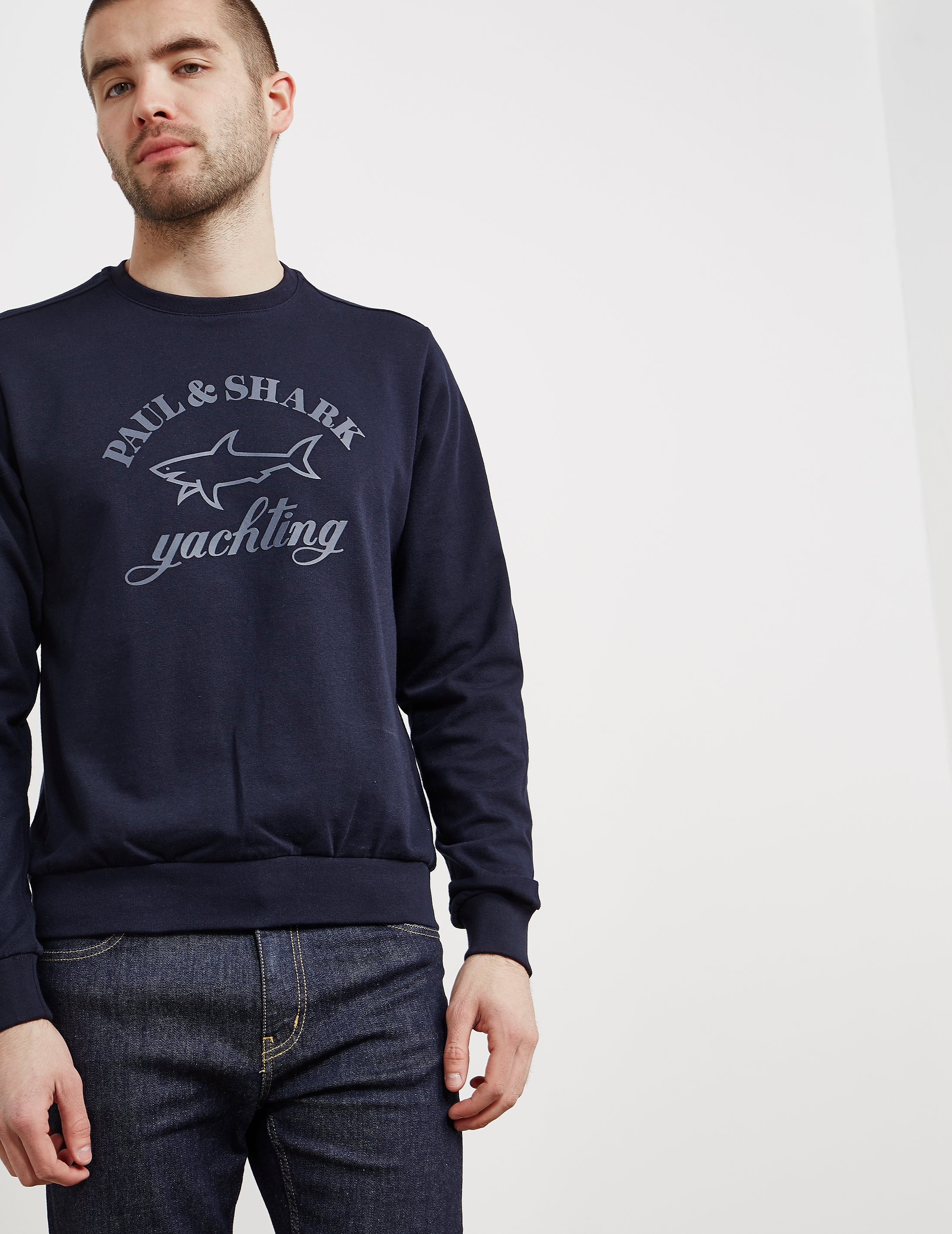 Paul and Shark Rubber Print Sweatshirt