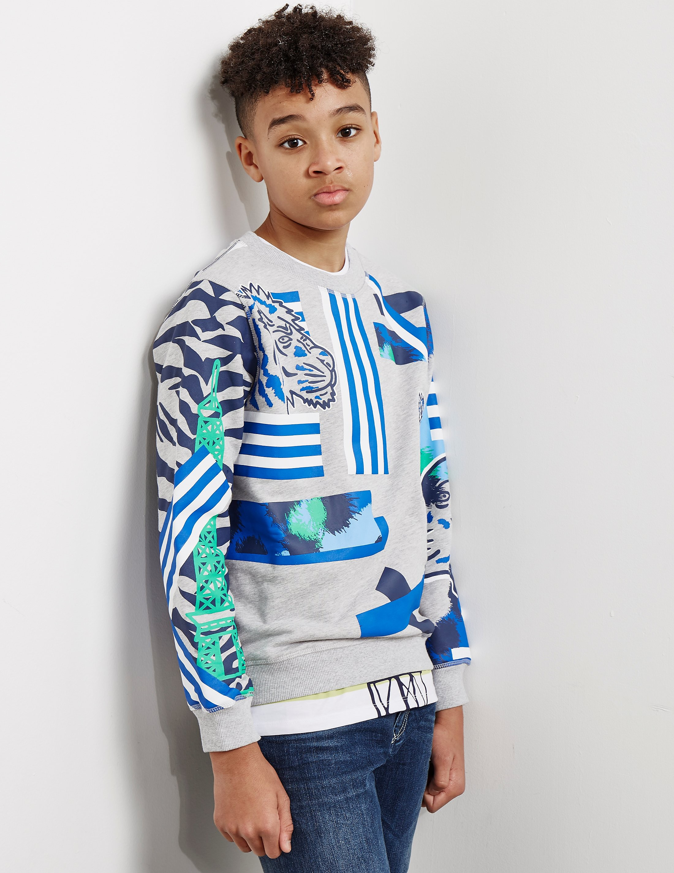 KENZO Abstract Tiger Sweatshirt