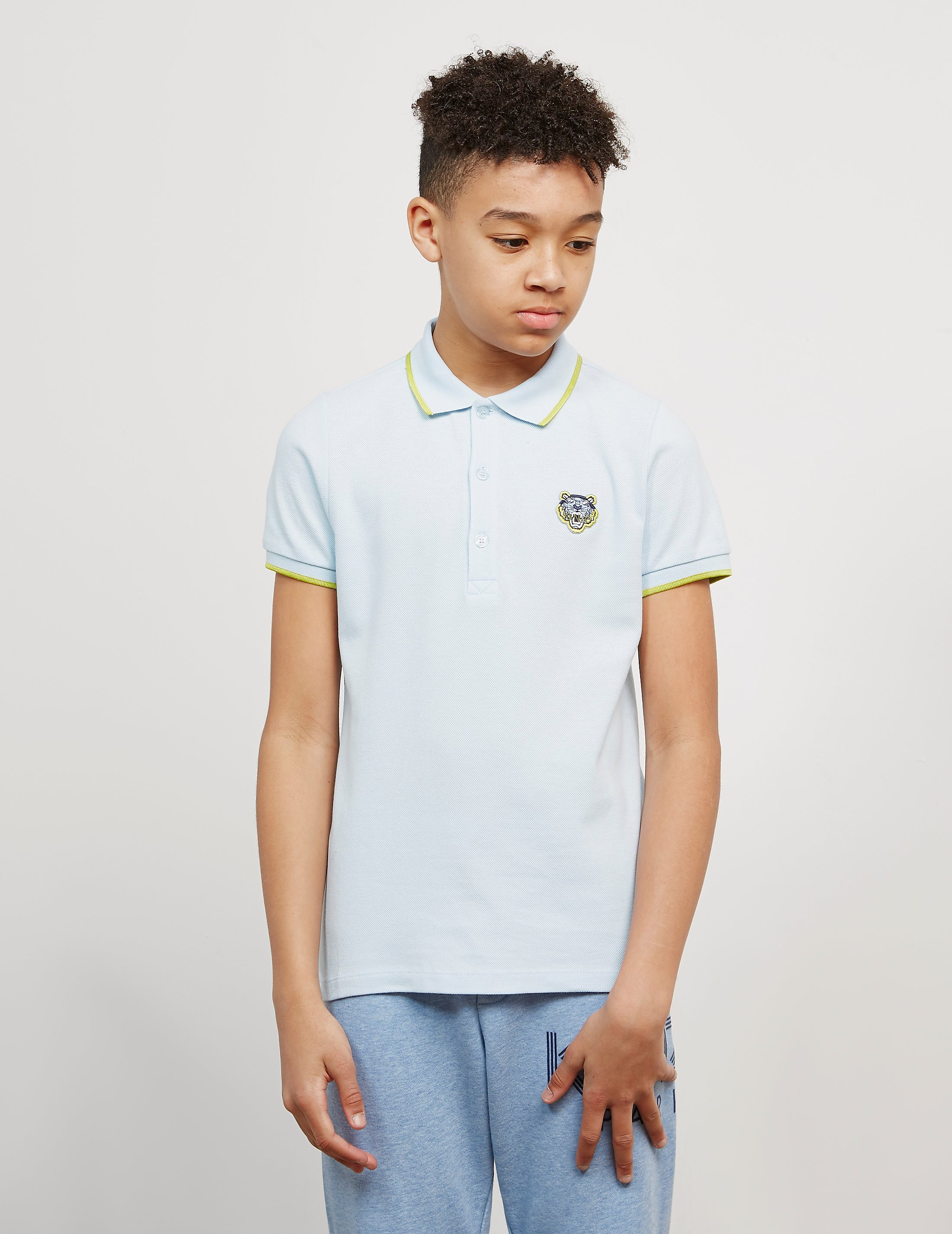 KENZO Tiger Short Sleeve Polo Shirt
