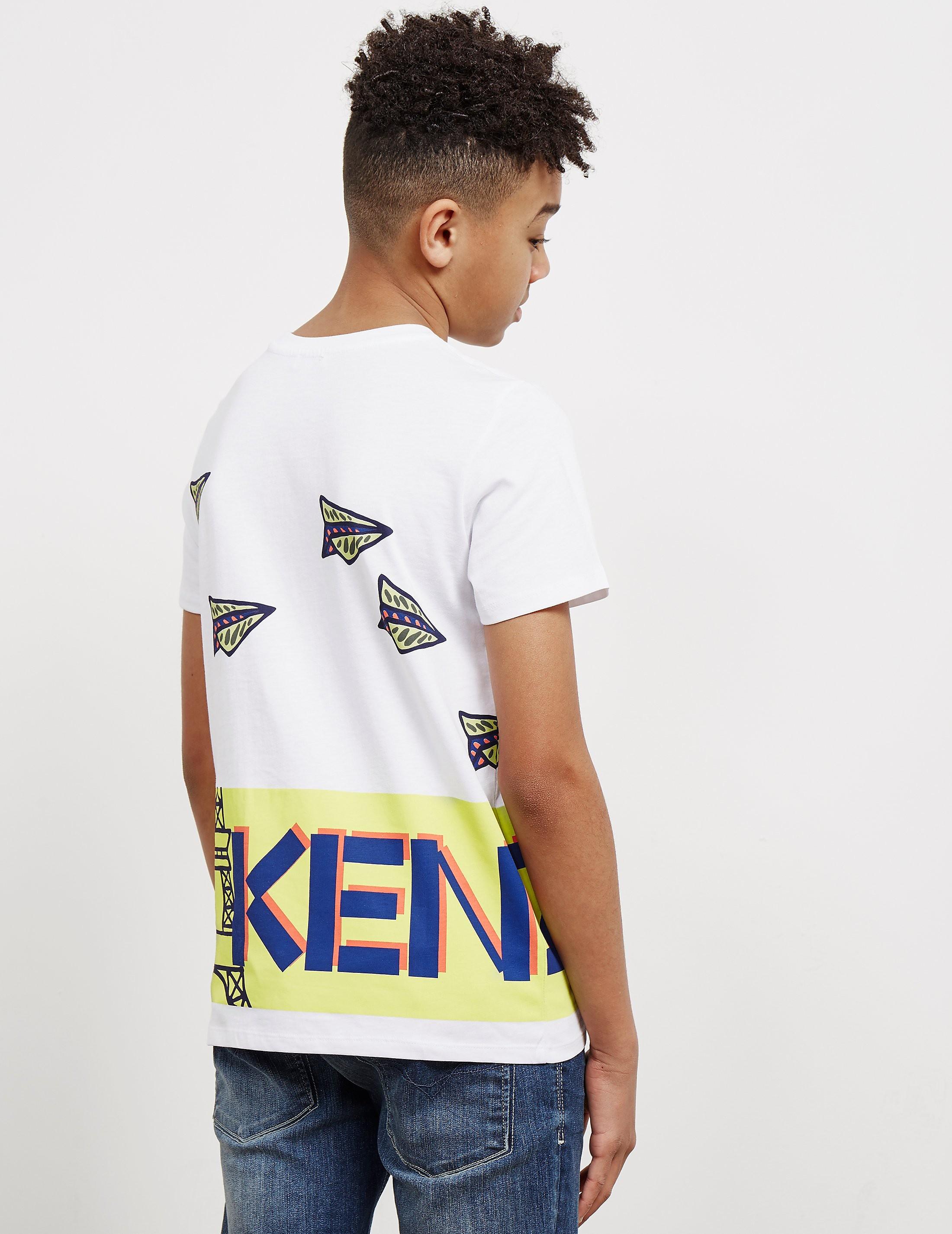 KENZO Plane Short Sleeve T-Shirt