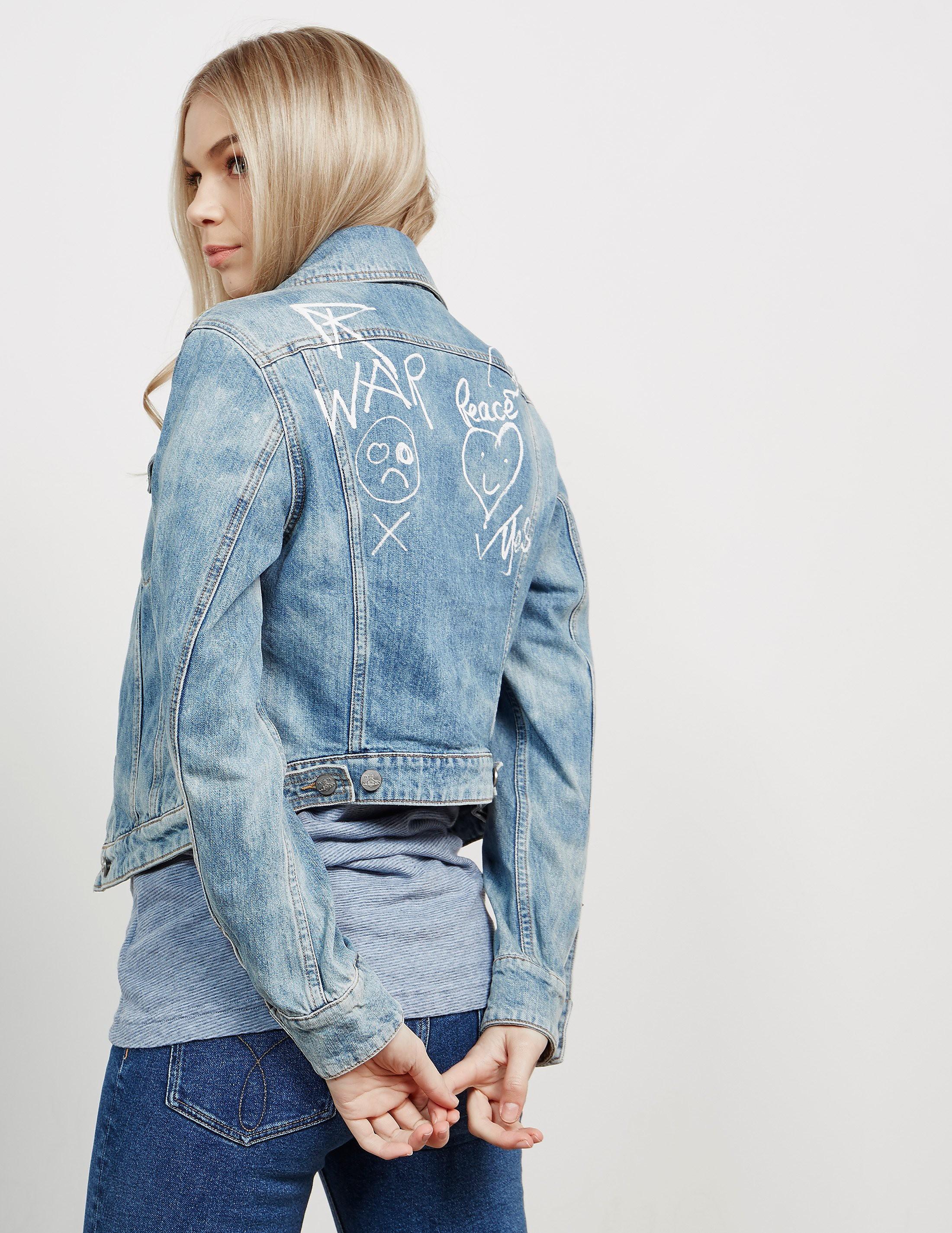 Vivienne Westwood Anglomania Wave Denim Jacket