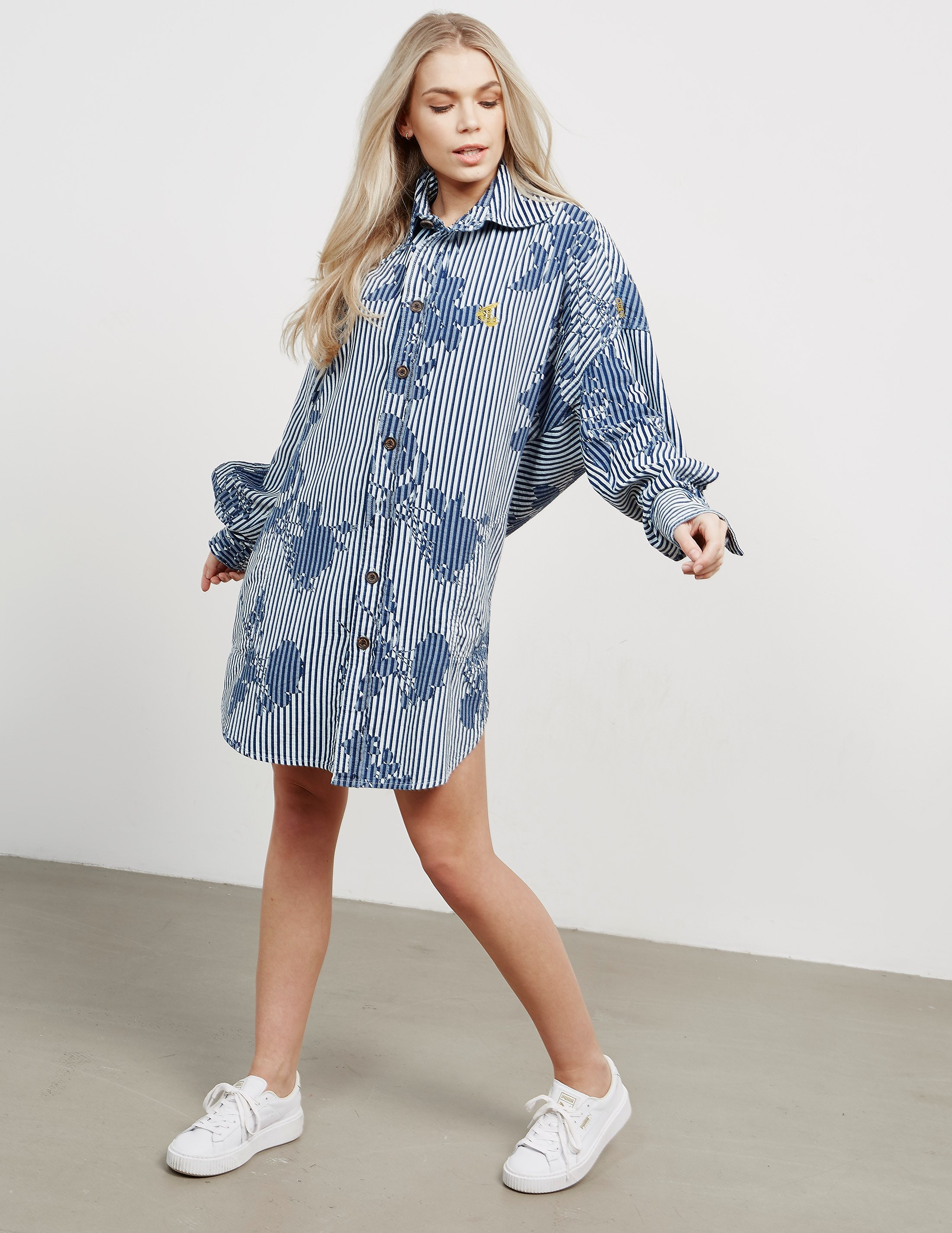 Vivienne Westwood Anglomania Chaos Shirt Dress