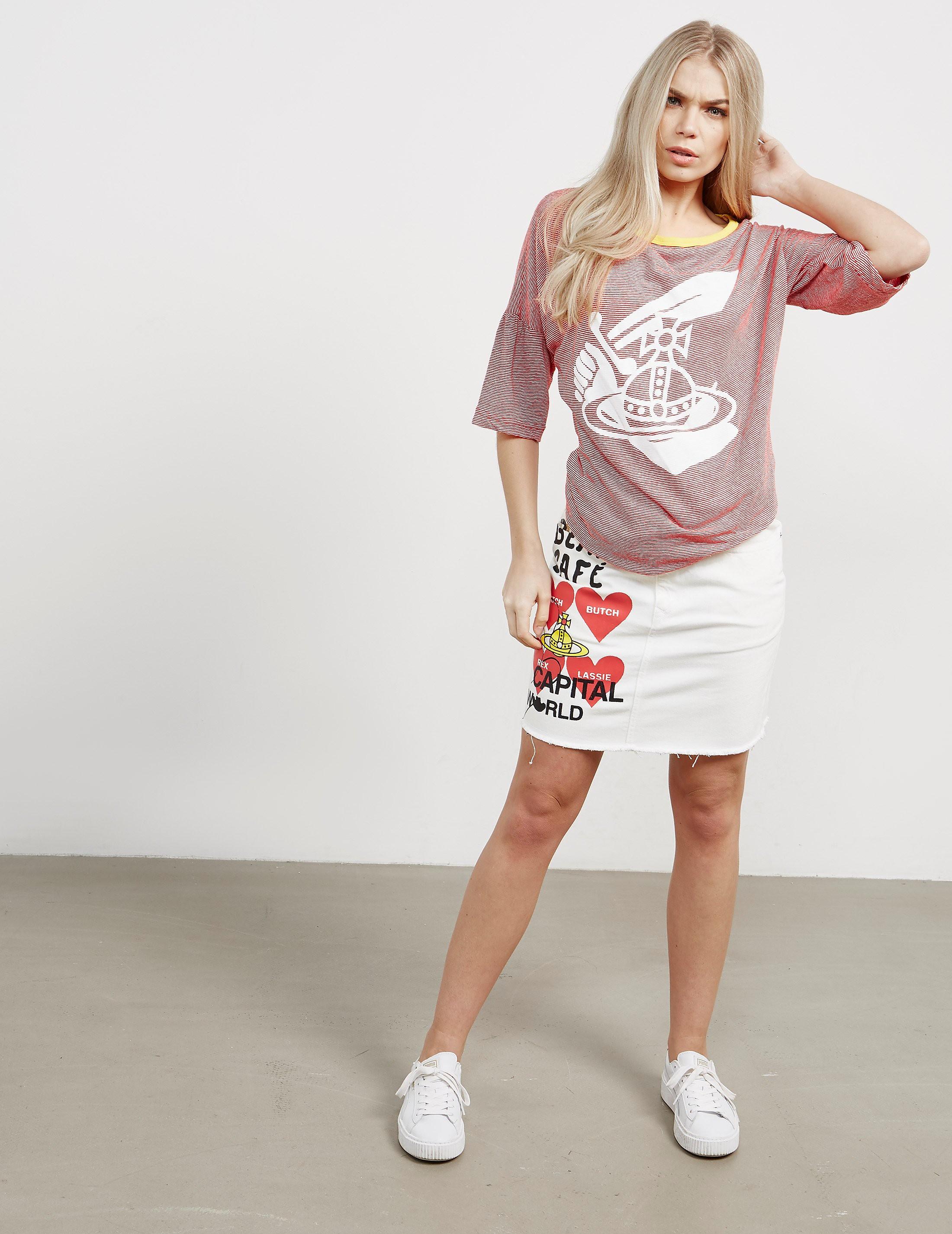 Vivienne Westwood Anglomania Midling Orb Short Sleeve T-Shirt