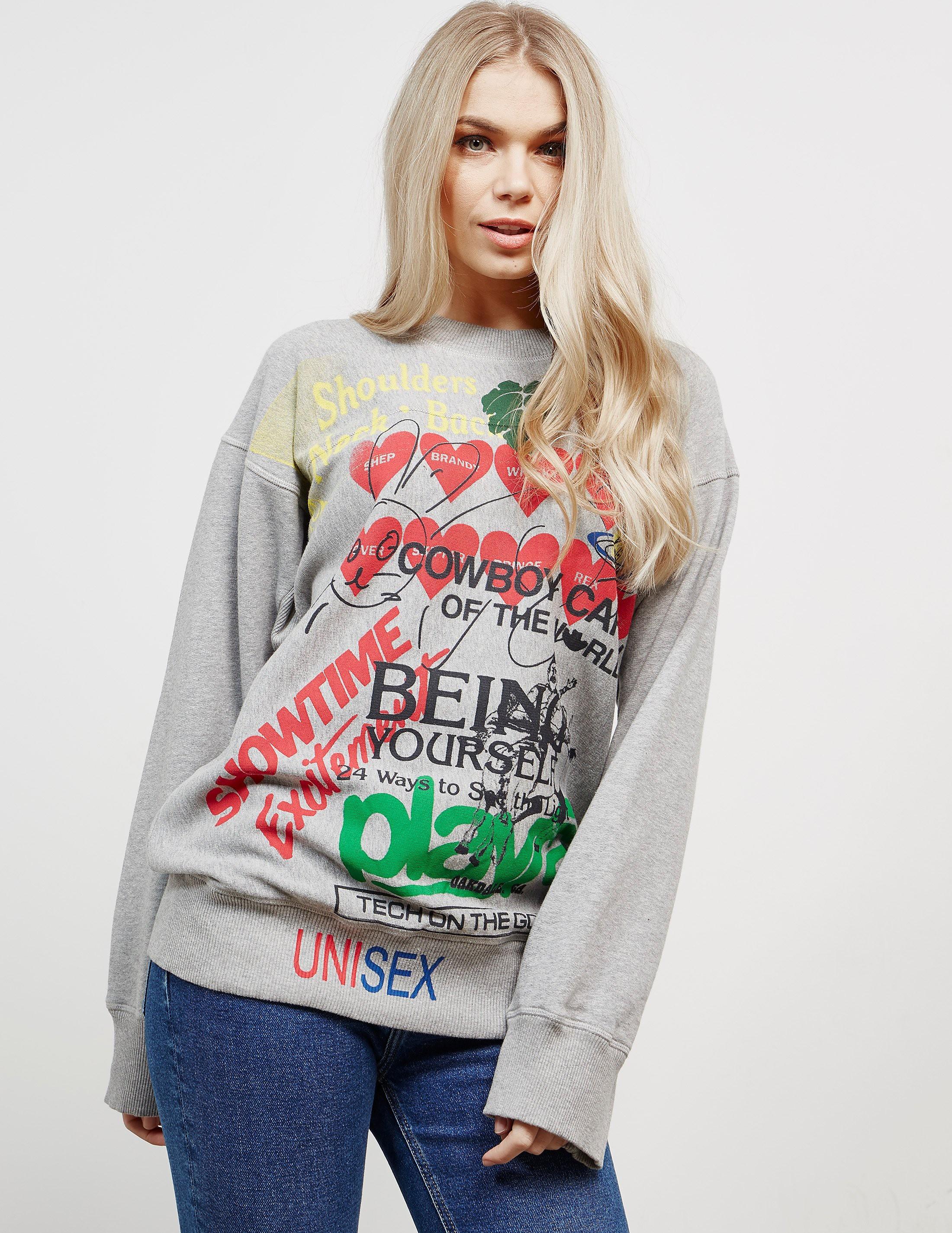 Vivienne Westwood Anglomania Square Sweatshirt