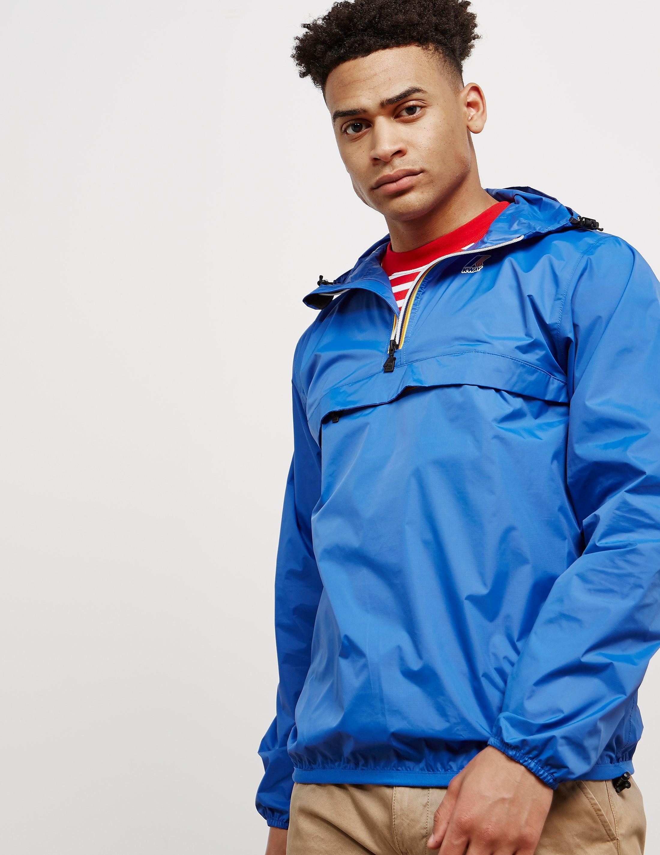 K-Way Leon Half Zip Lightweight Jacket