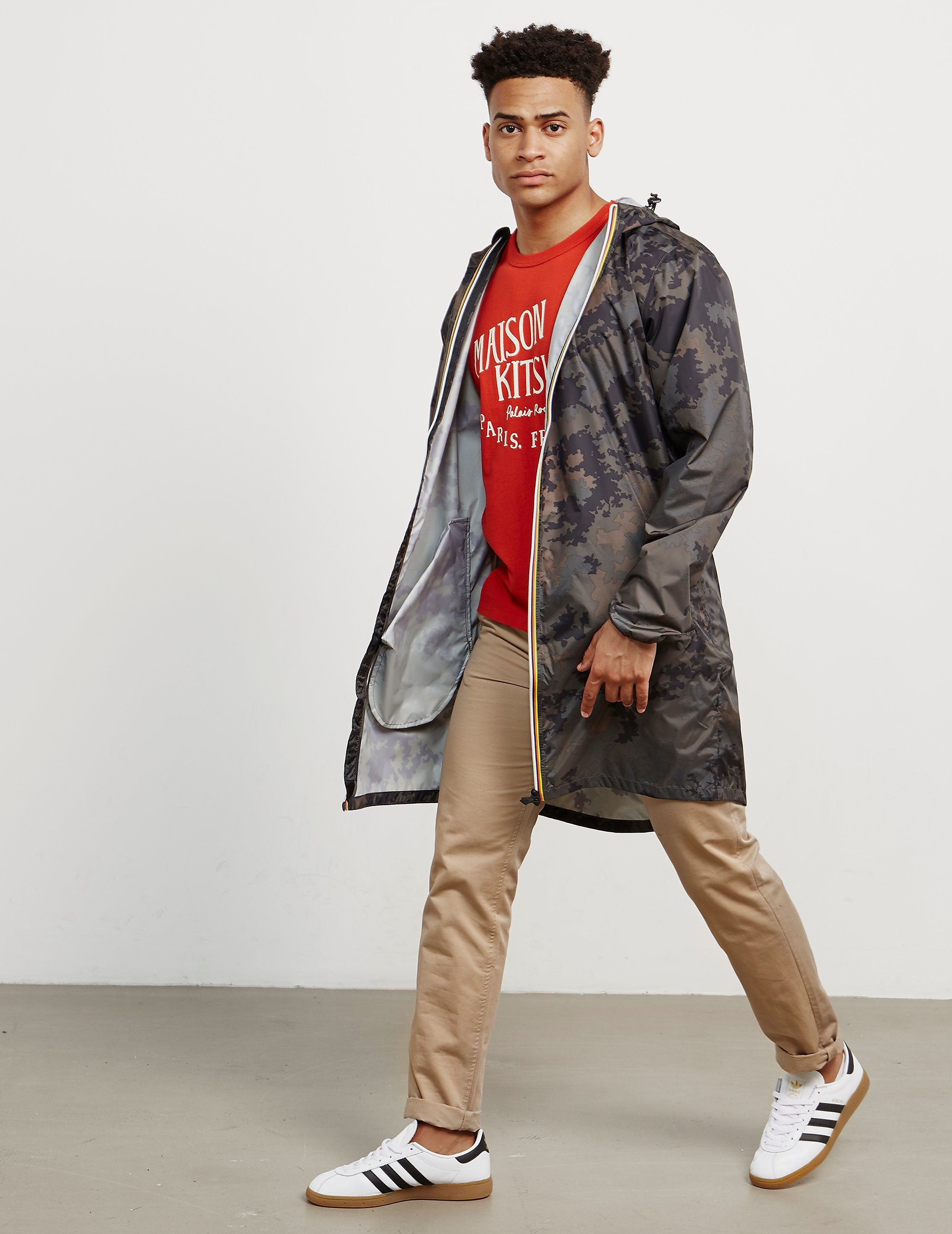 K-Way Eiffel Lightweight Camo Jacket