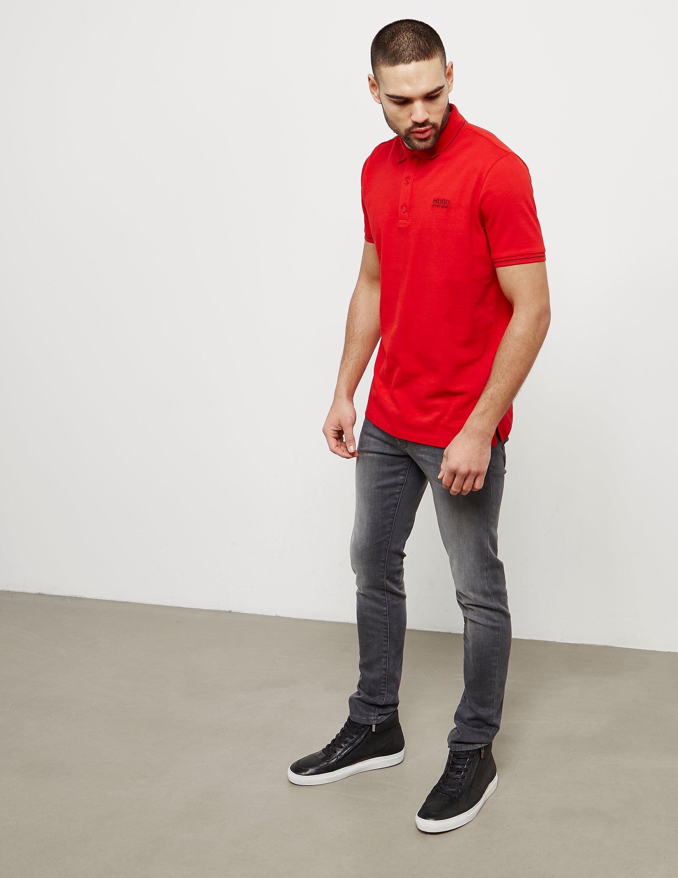 HUGO Daruso Short Sleeve Polo Shirt