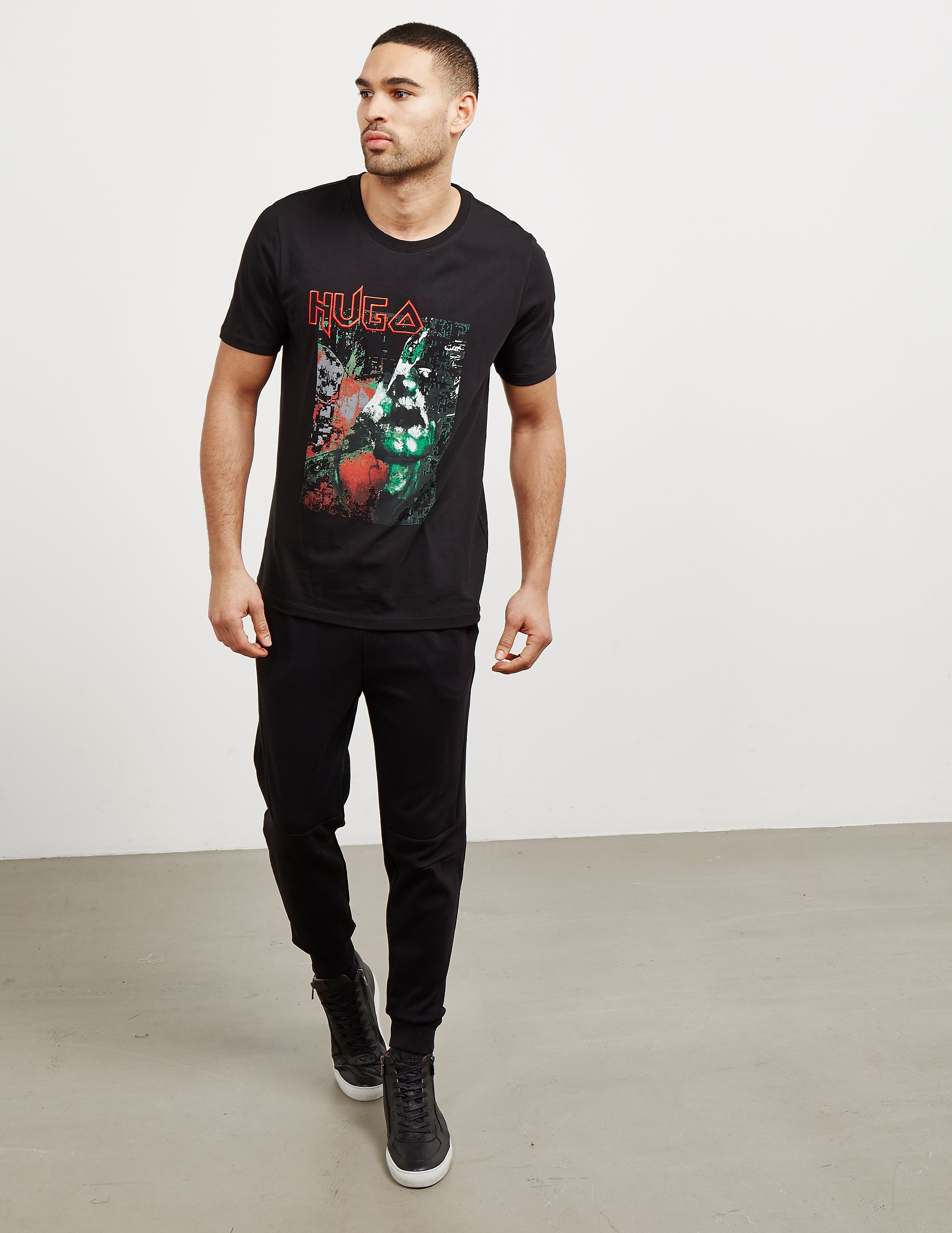 HUGO Detallic Short Sleeve T-Shirt
