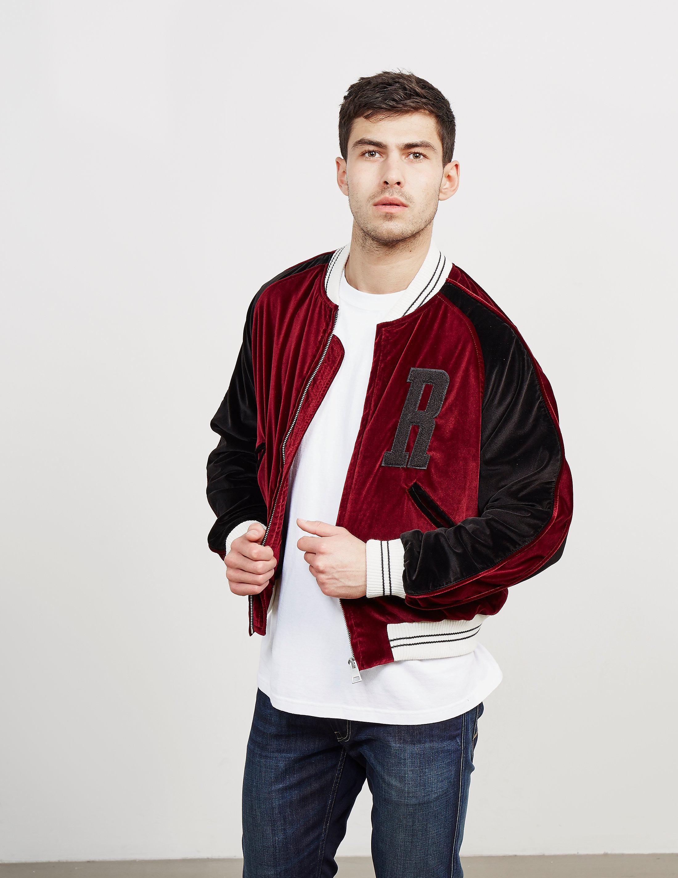 Represent Velour Bomber Jacket - Online Exclusive