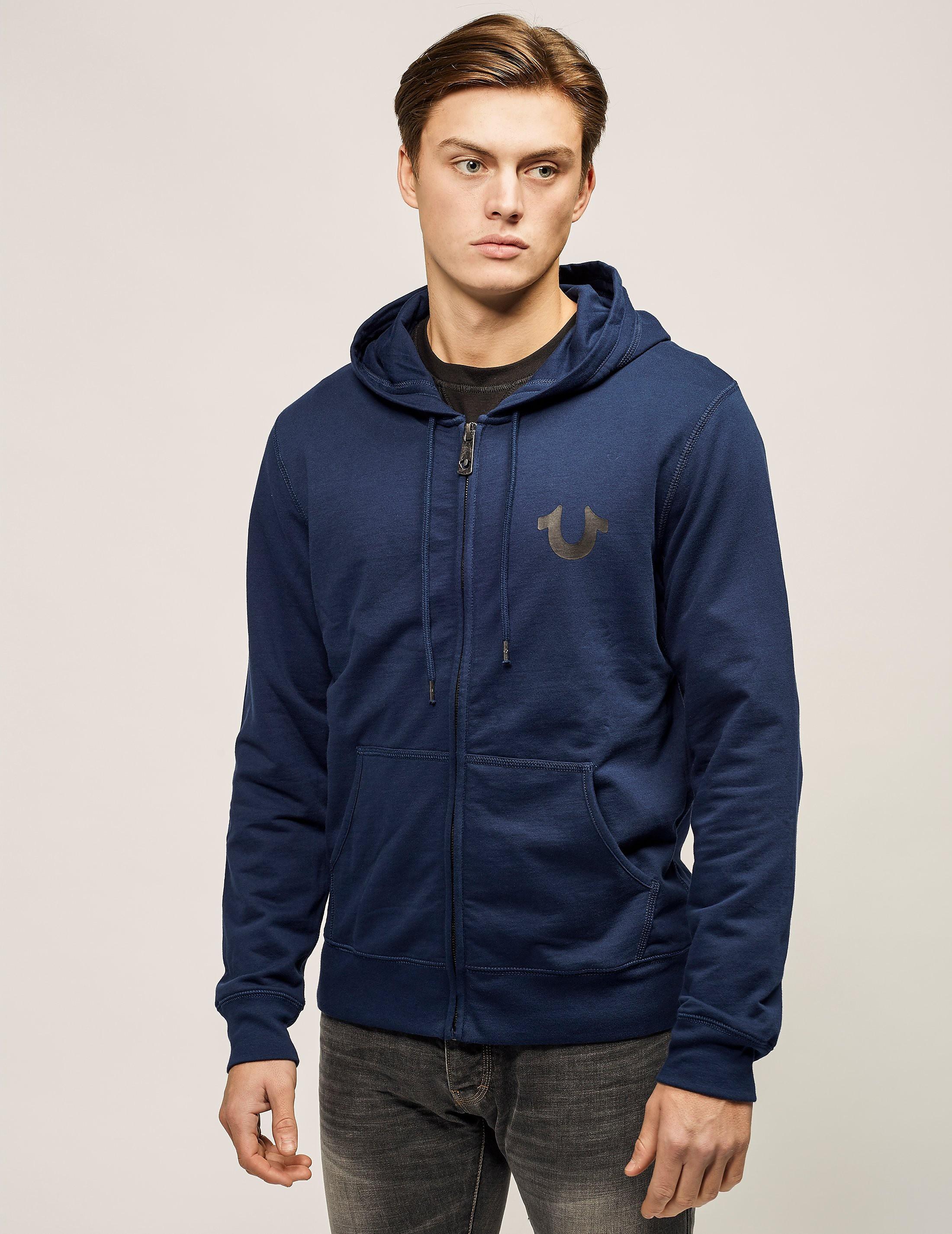 True Religion Crafted Zip Hooded Sweatshirt