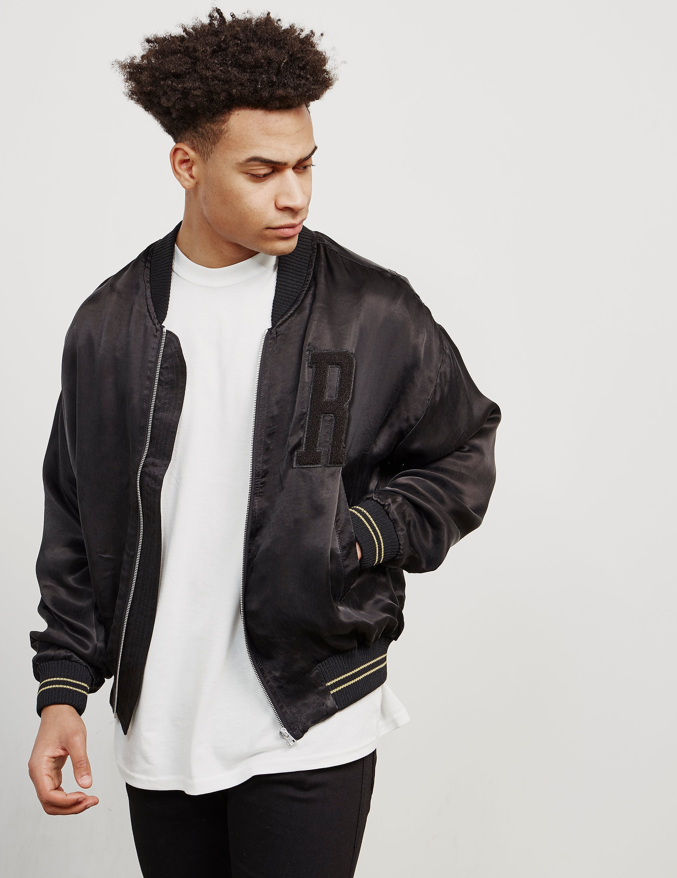 Represent Satin Bomber Jacket - Online Exclusive