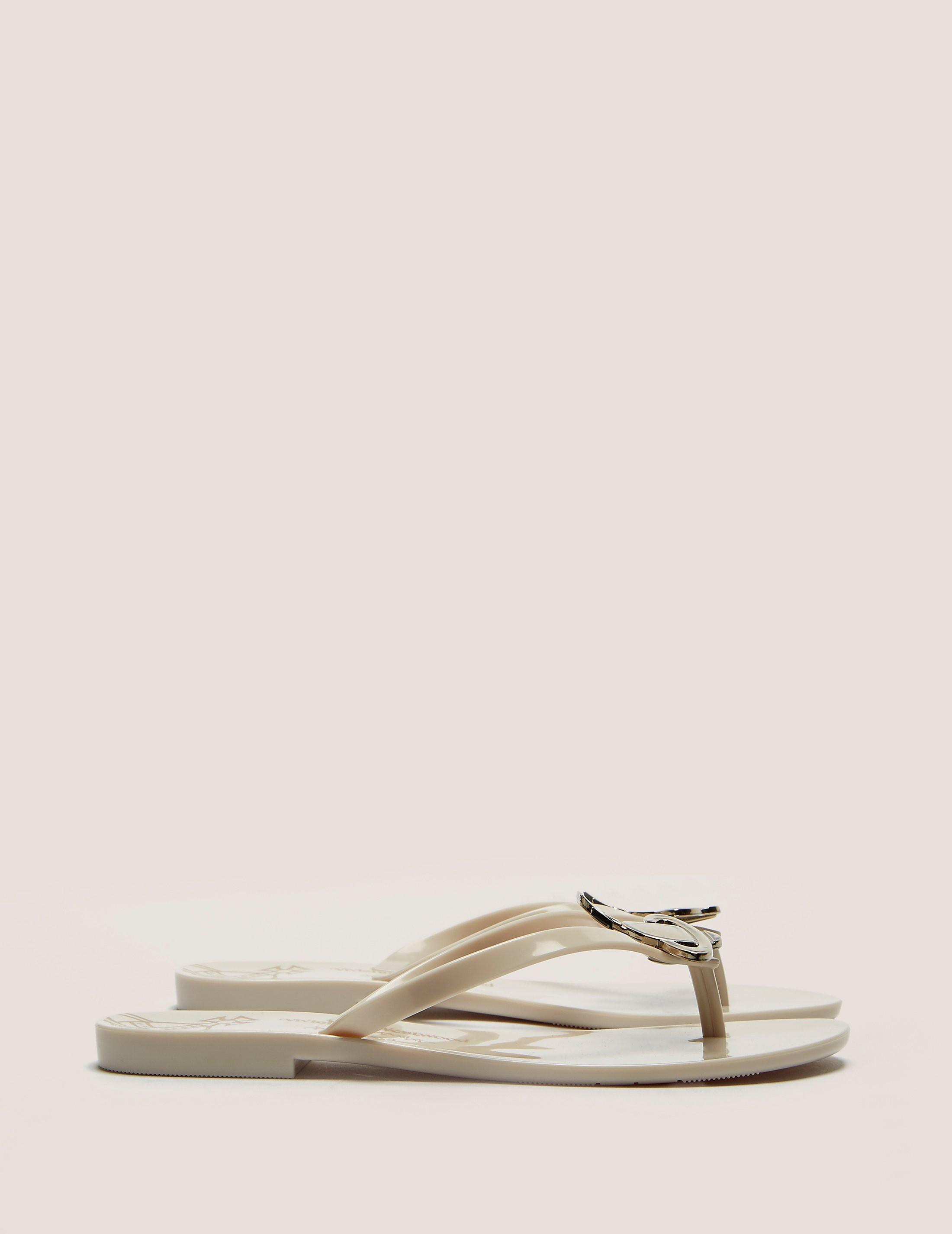 Melissa X Vivienne Westwood Orb Flip Flop