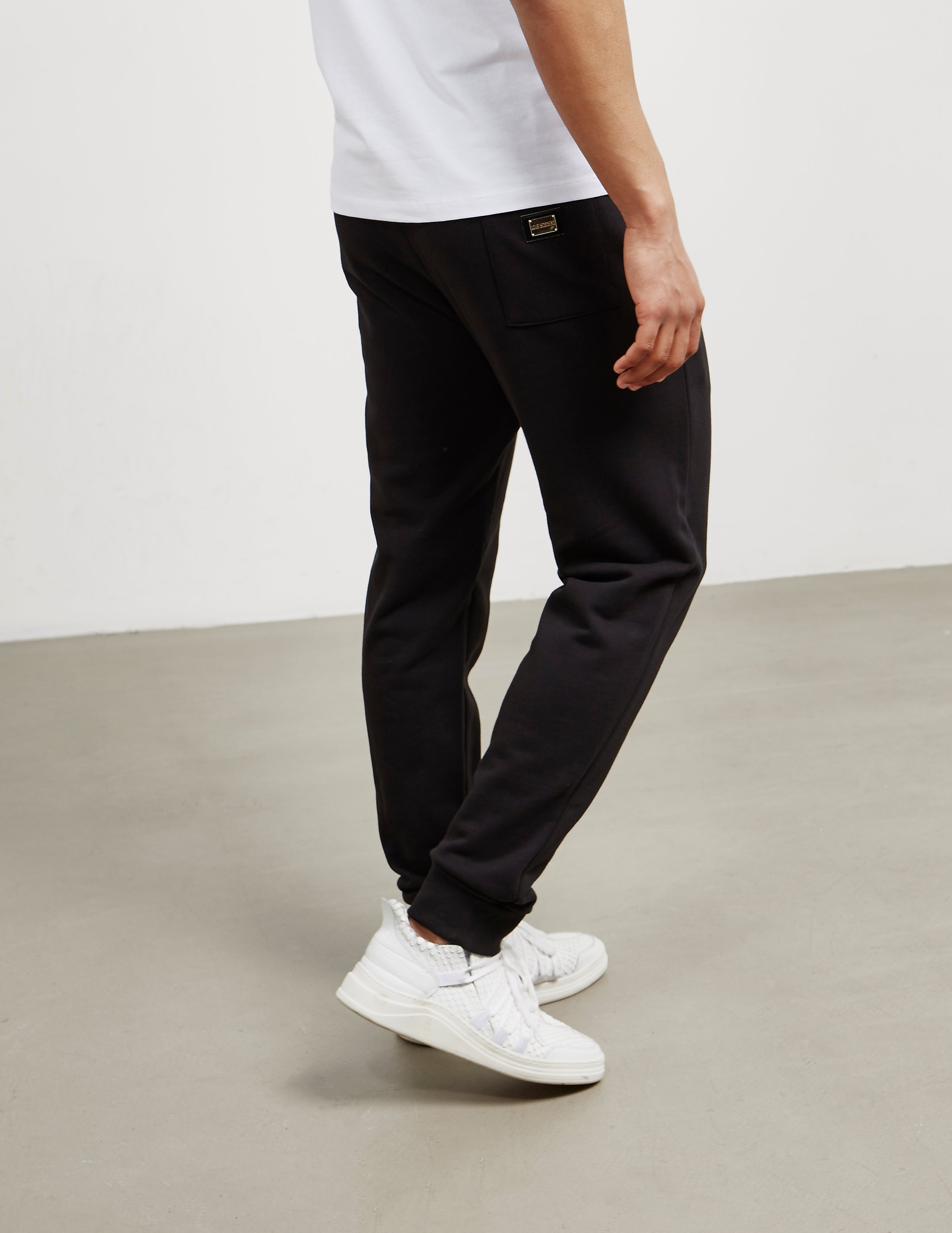 Love Moschino Gold Plaque Track Pants