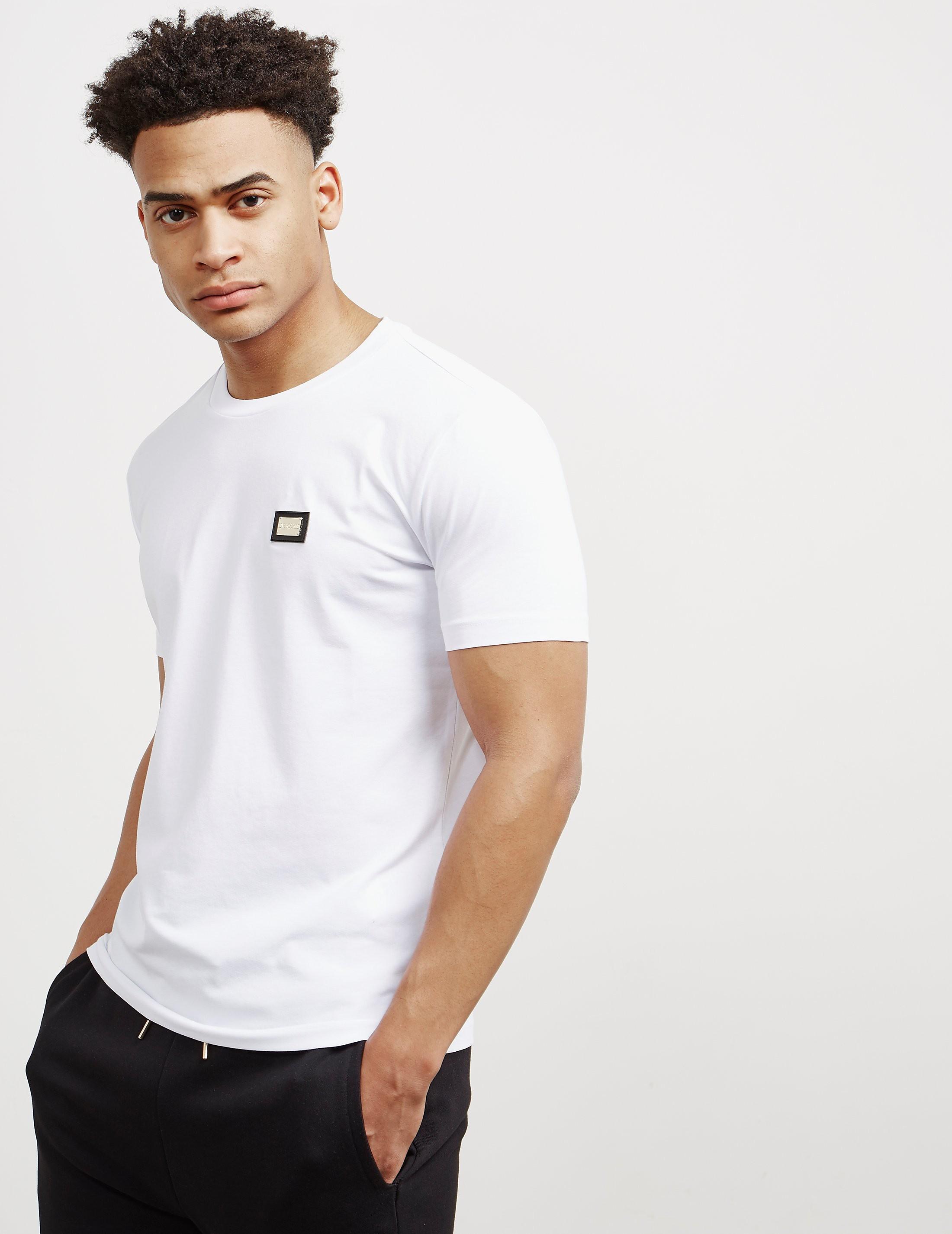 Love Moschino Gold Plaque Short Sleeve T-Shirt