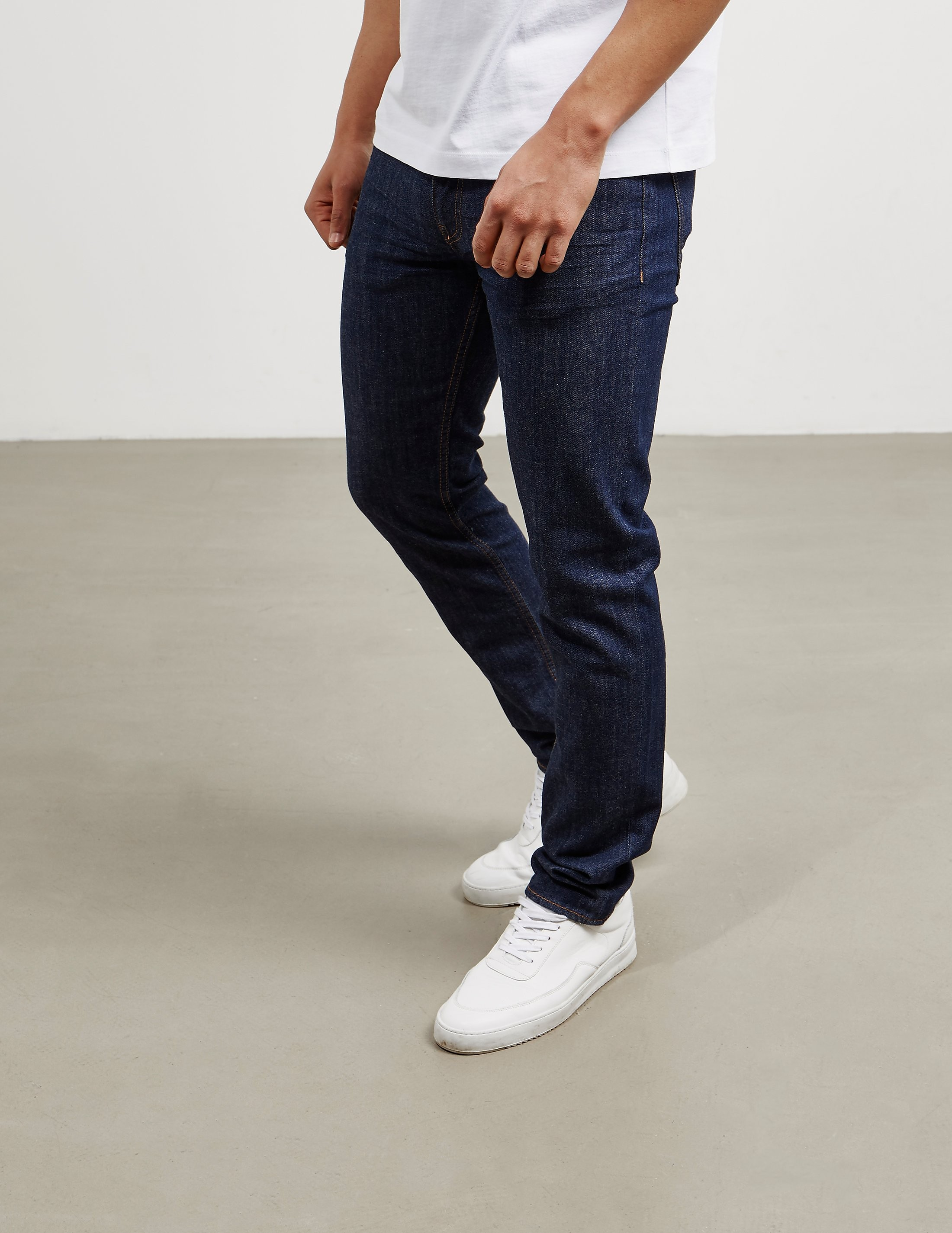 Love Moschino Gold Plaque Jeans