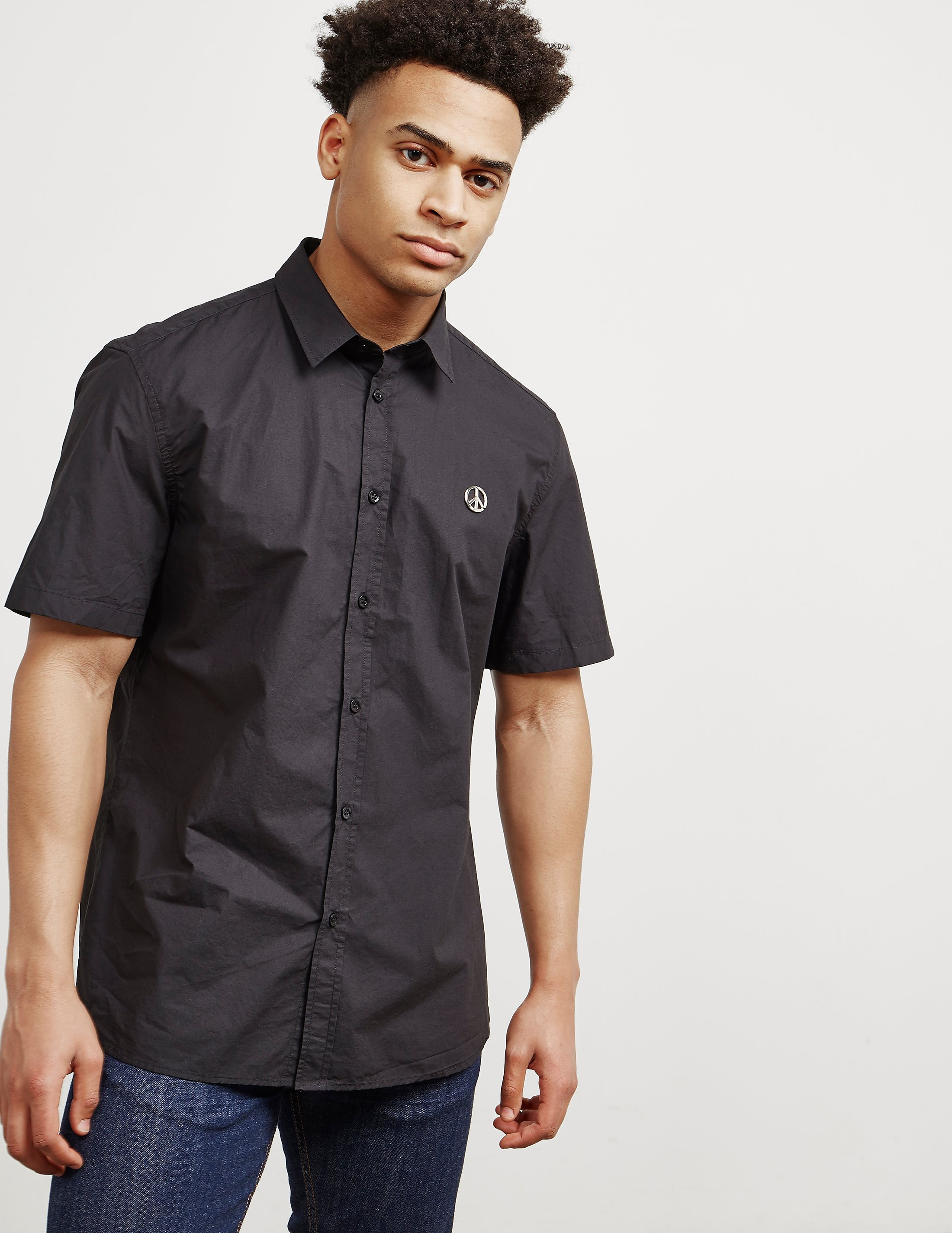 Love Moschino Peace Short Sleeve Shirt - Online Exclusive